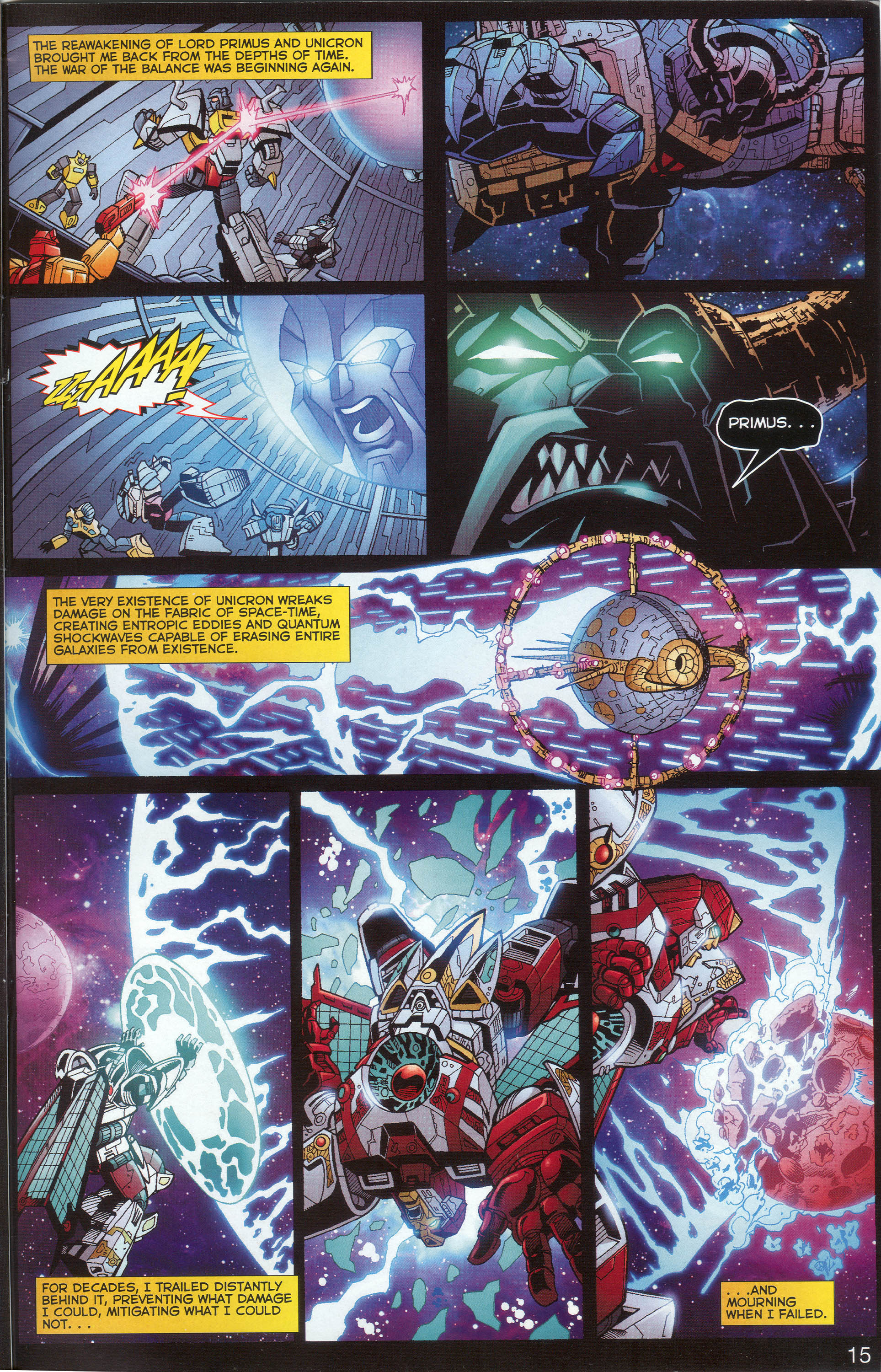 Read online Transformers: Collectors' Club comic -  Issue #1 - 15