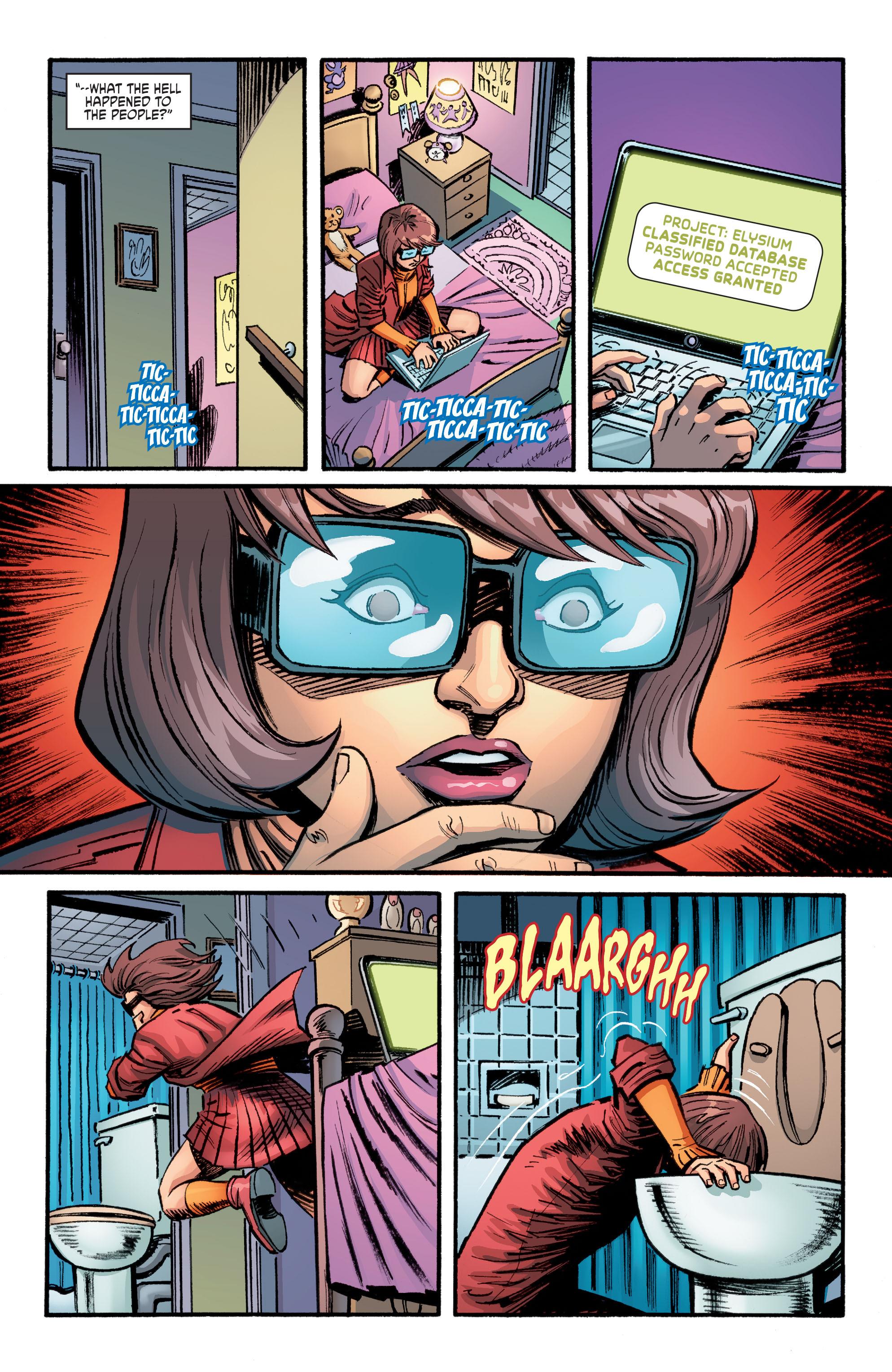 Read online Scooby Apocalypse comic -  Issue #9 - 7