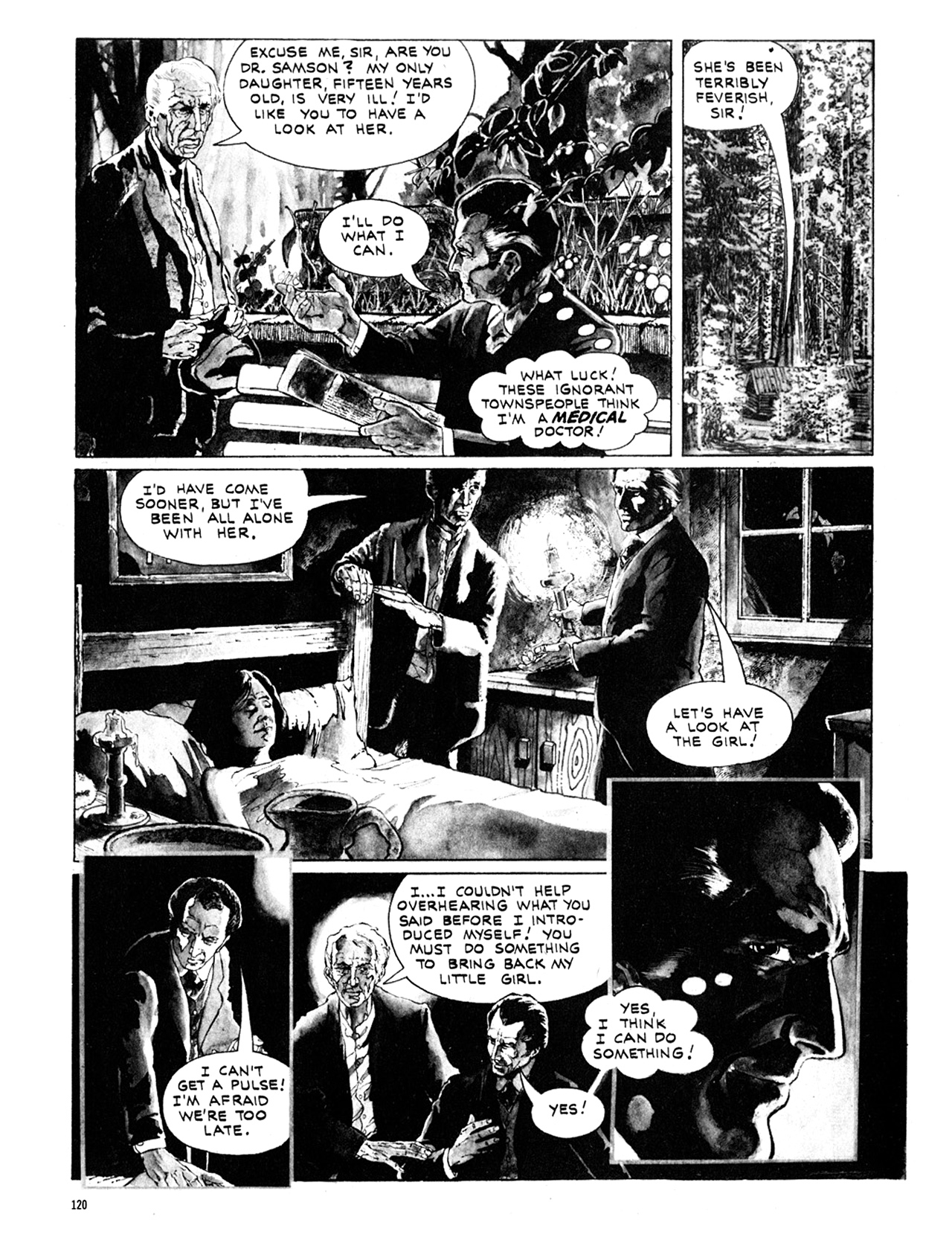 Read online Eerie Archives comic -  Issue # TPB 10 - 121