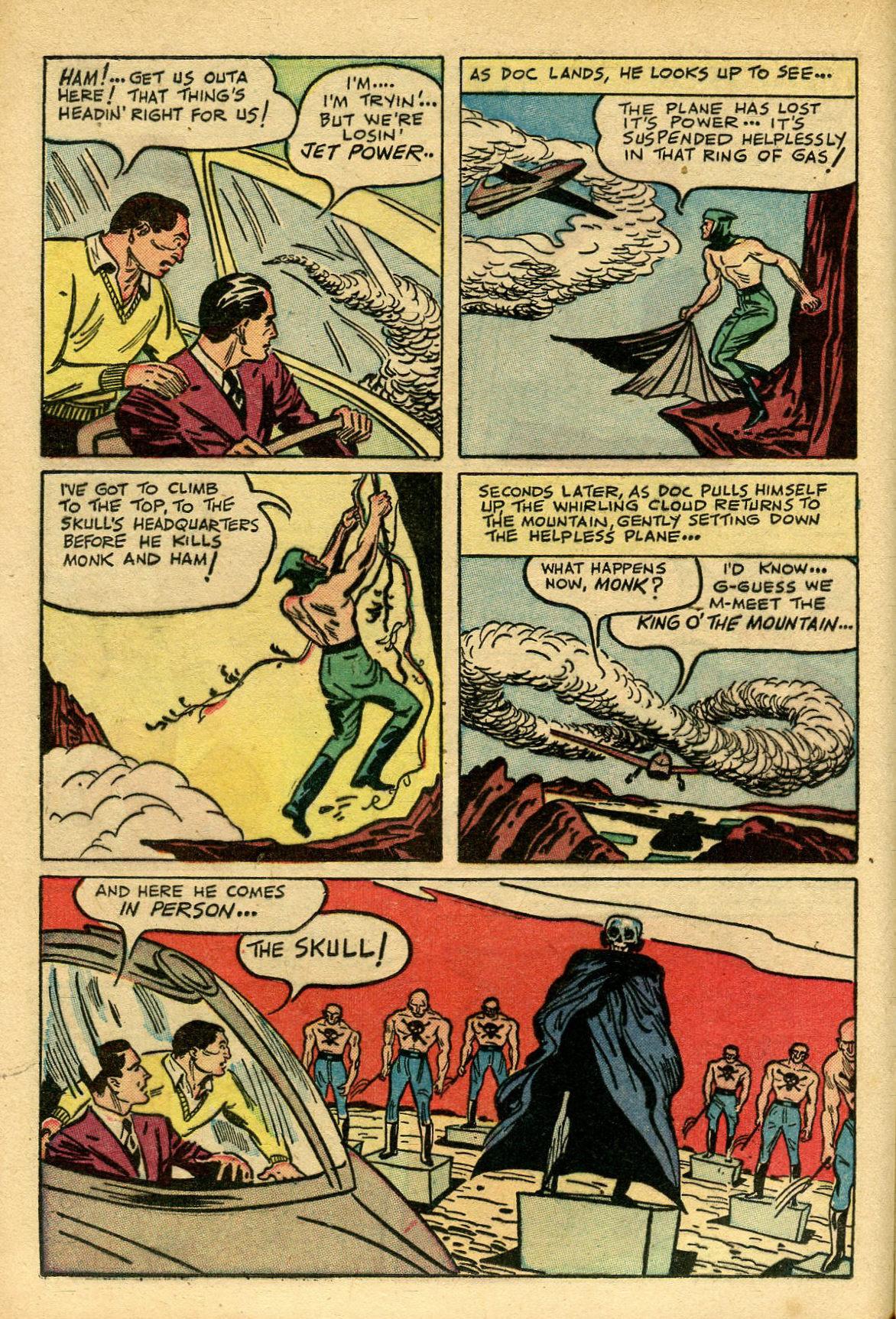 Read online Shadow Comics comic -  Issue #69 - 20