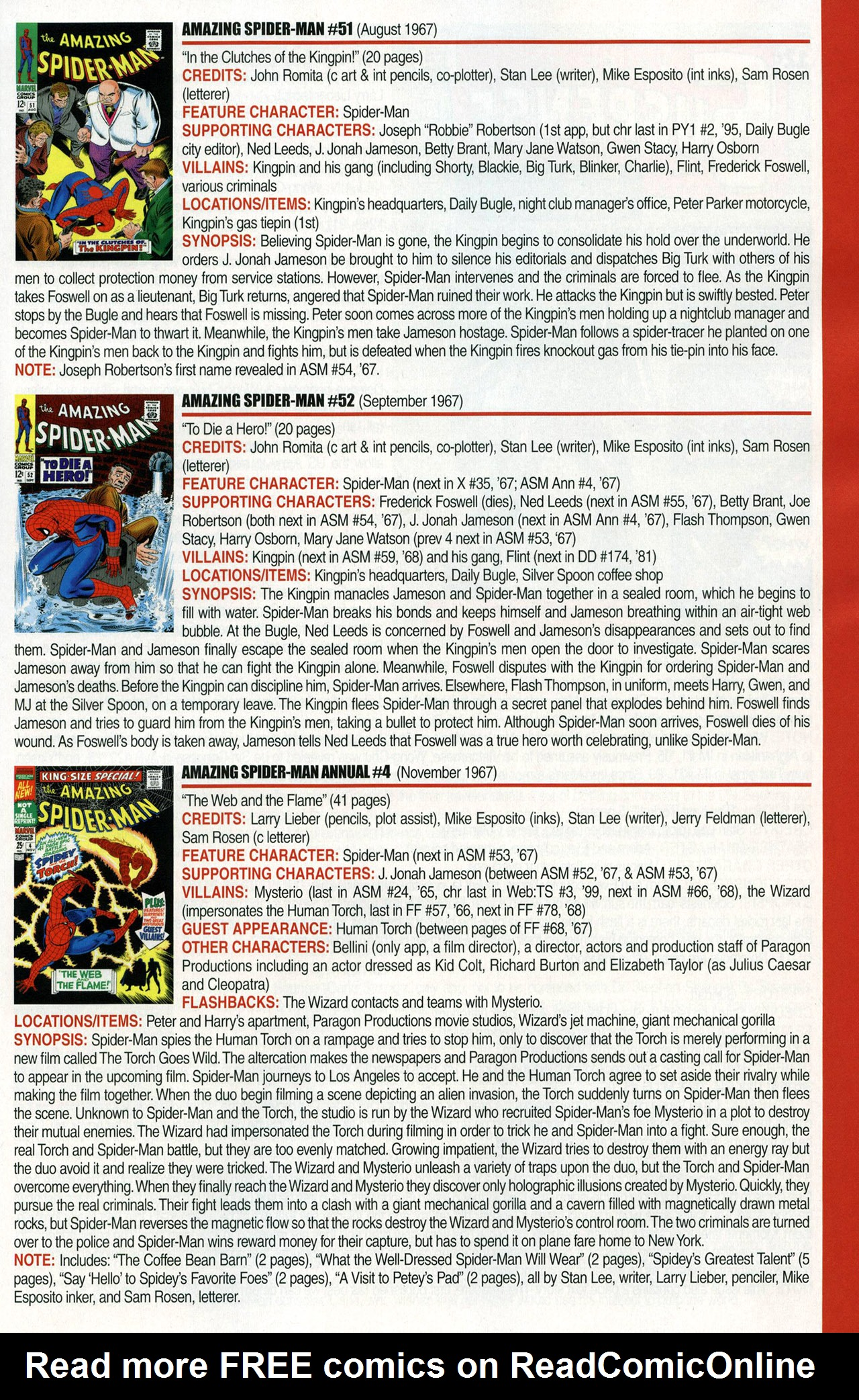 Read online Official Index to the Marvel Universe comic -  Issue #1 - 23