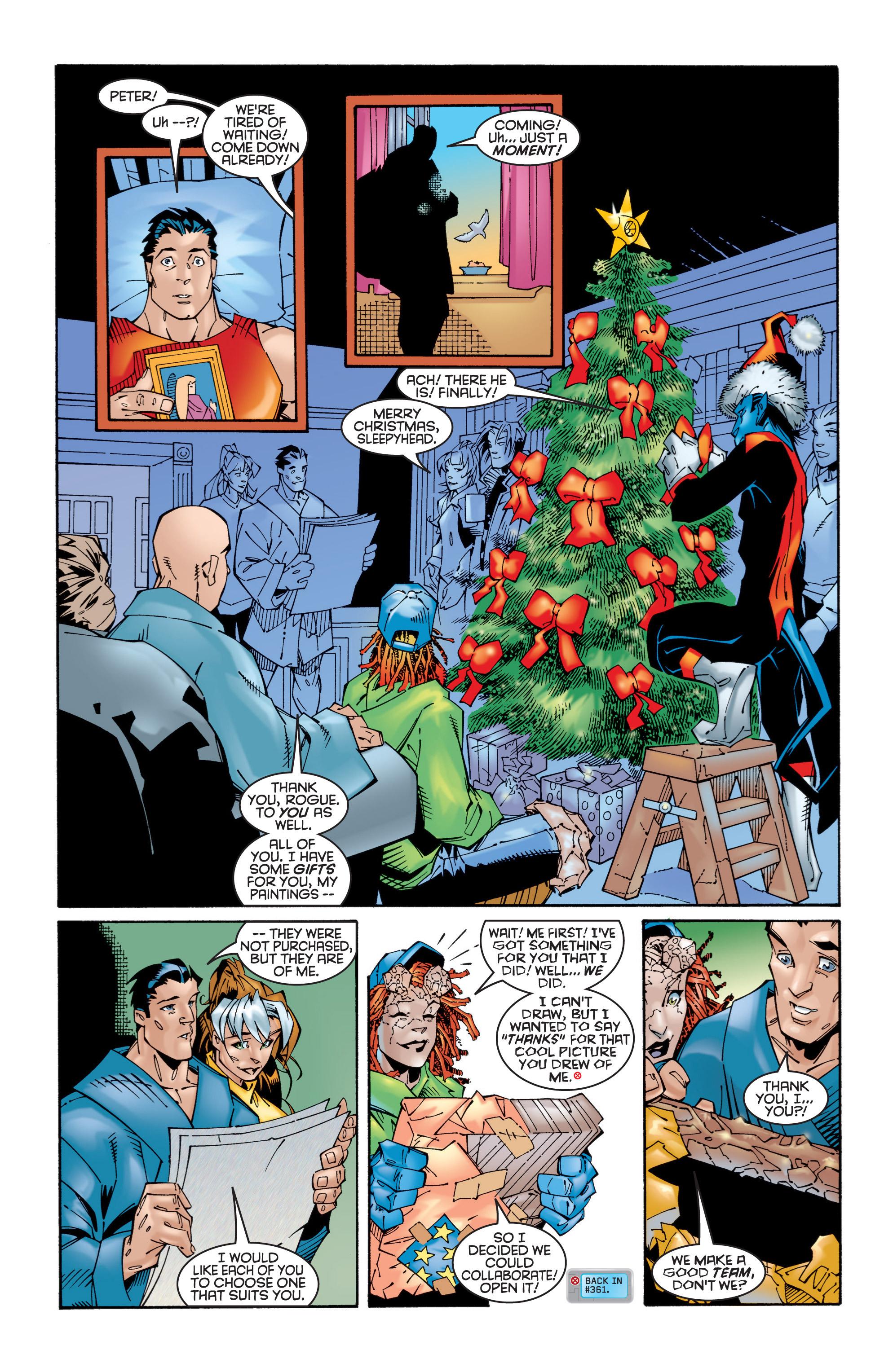 Read online Uncanny X-Men (1963) comic -  Issue #365 - 21