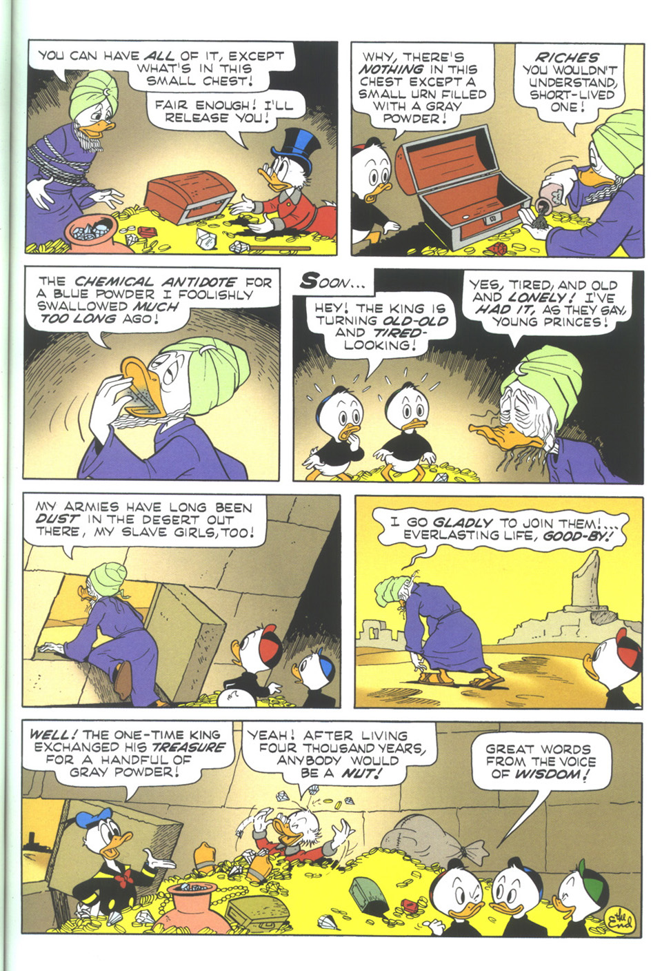 Read online Uncle Scrooge (1953) comic -  Issue #345 - 23