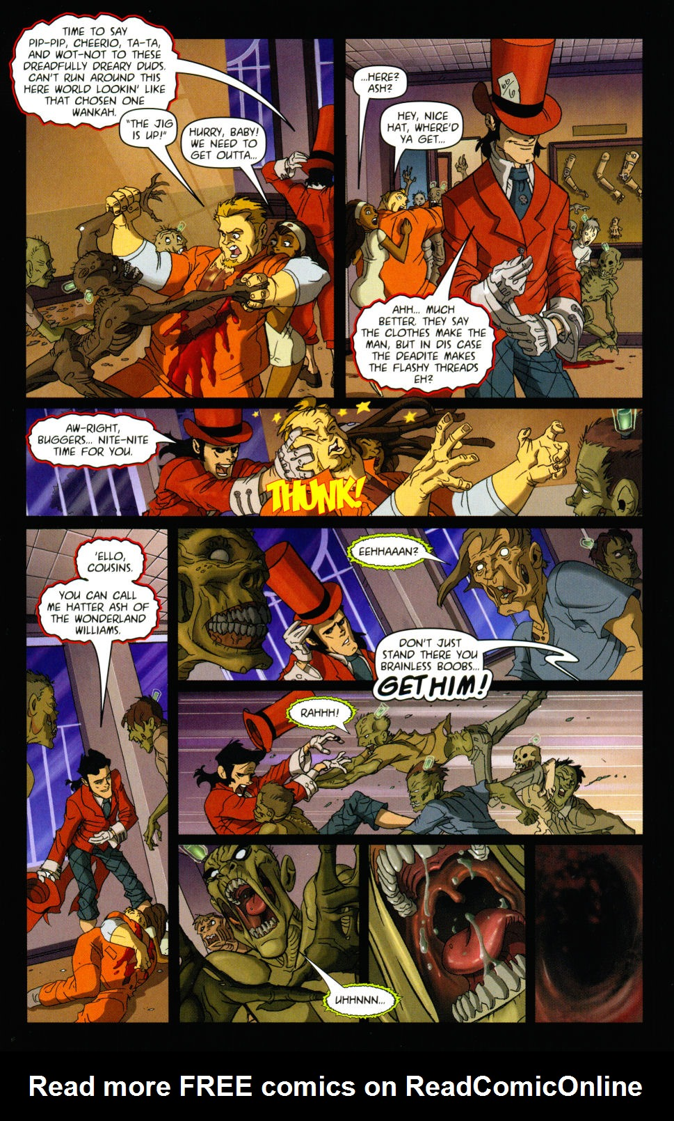Read online Army of Darkness vs. Re-Animator comic -  Issue #3 - 13