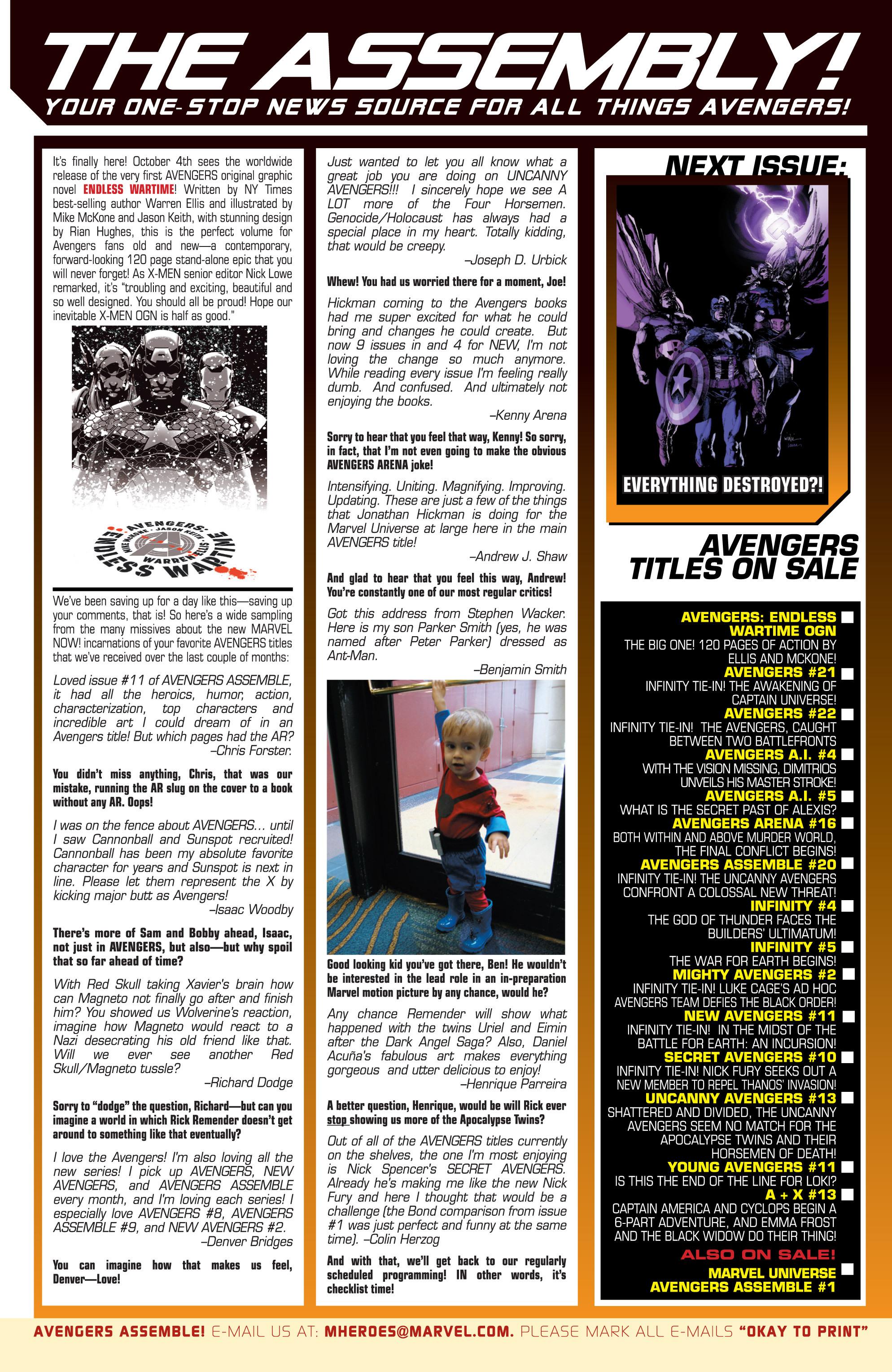 Read online Avengers (2013) comic -  Issue #Avengers (2013) _TPB 4 - 123