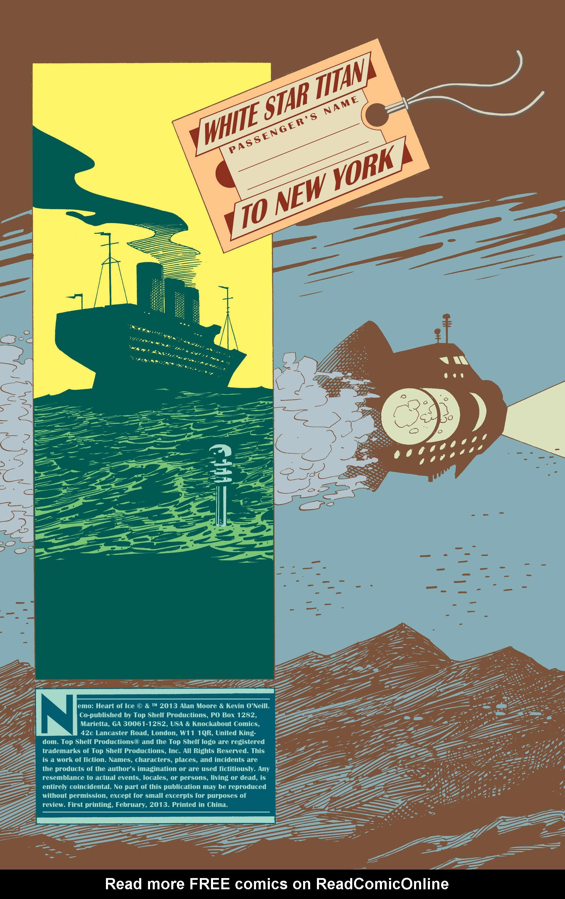 Read online Nemo: Heart of Ice comic -  Issue # Full - 7