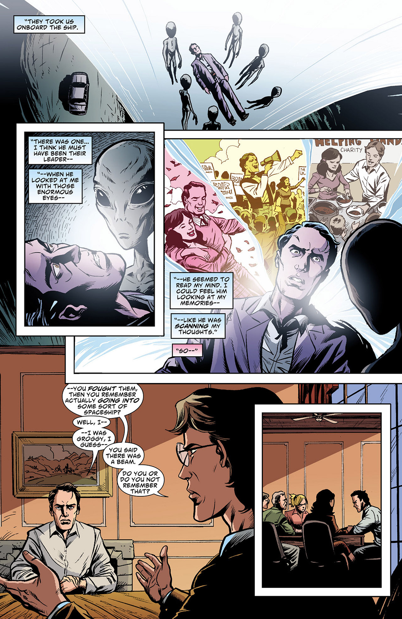 Read online Saucer Country comic -  Issue #4 - 11