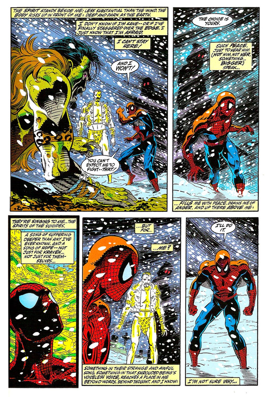 Read online The Amazing Spider-Man: Soul of the Hunter comic -  Issue # Full - 35