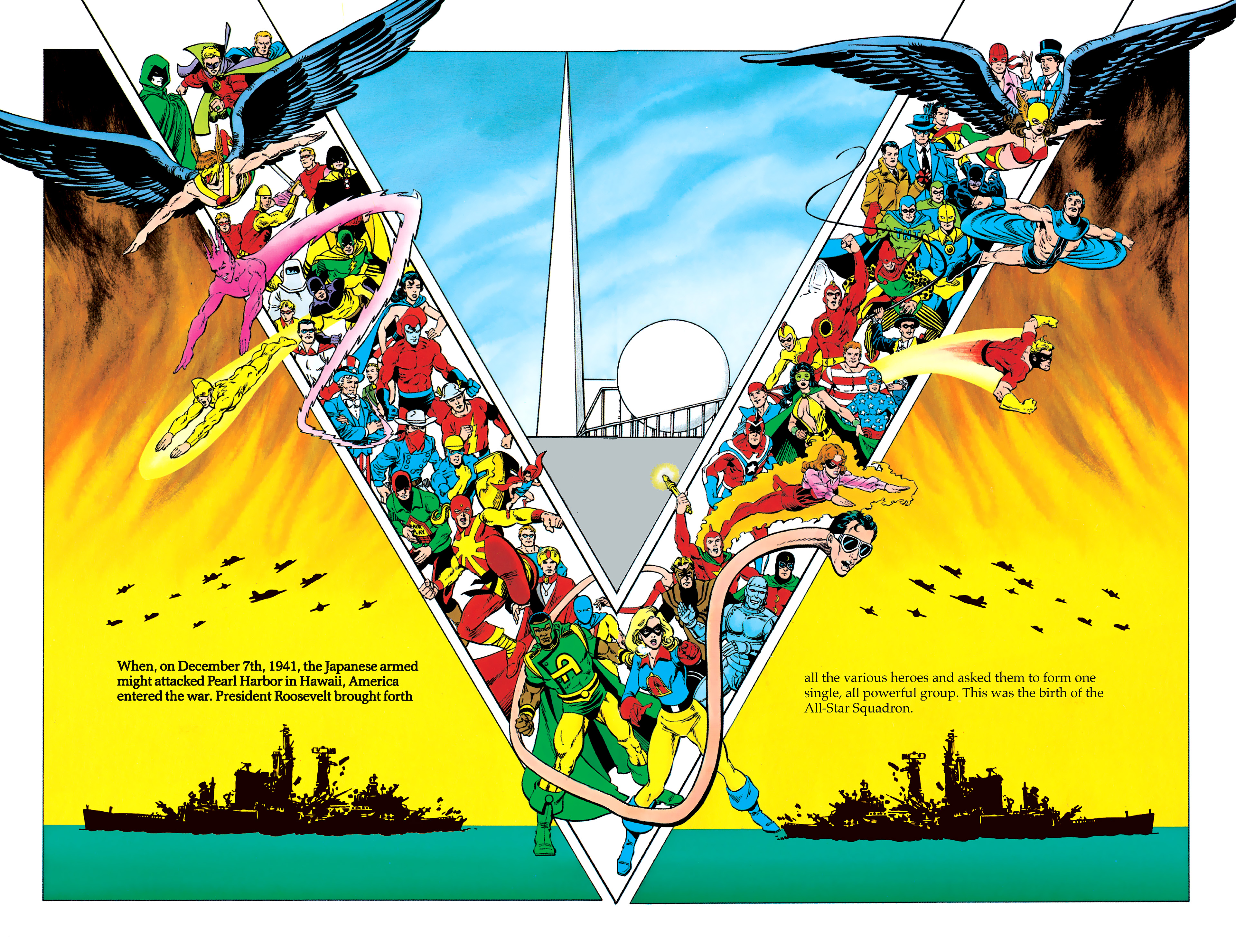 Read online History of the DC Universe comic -  Issue #1 - 40