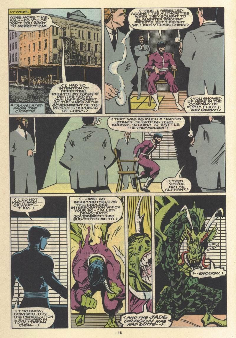 Read online Alpha Flight (1983) comic -  Issue #64 - 17