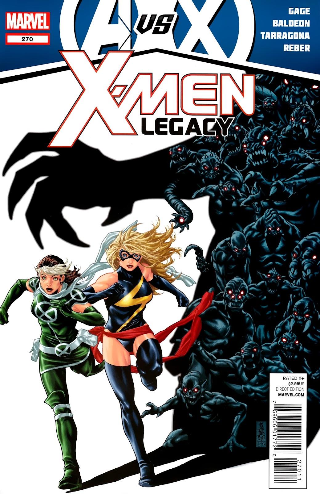 X-Men Legacy (2008) 270 Page 1