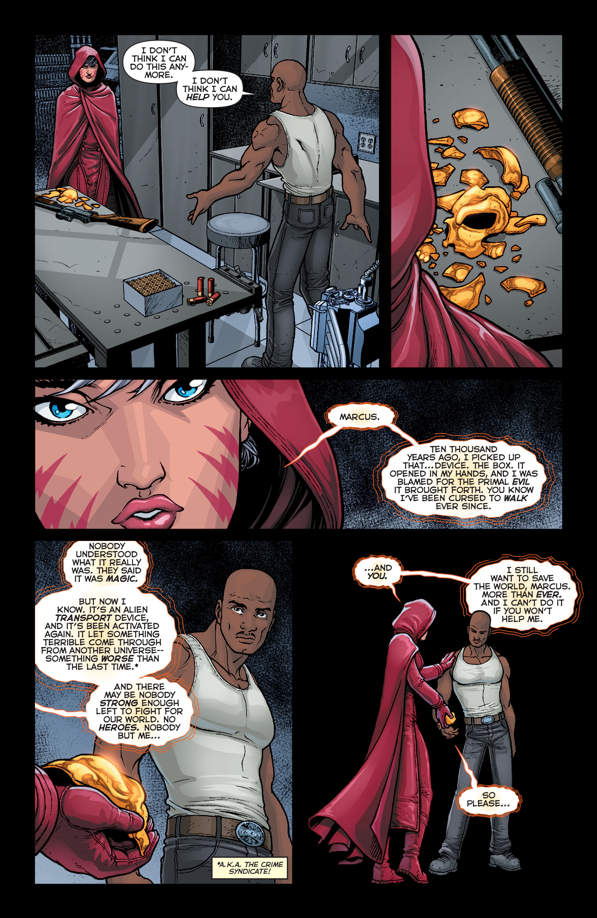 Read online Trinity of Sin: Pandora comic -  Issue #4 - 10