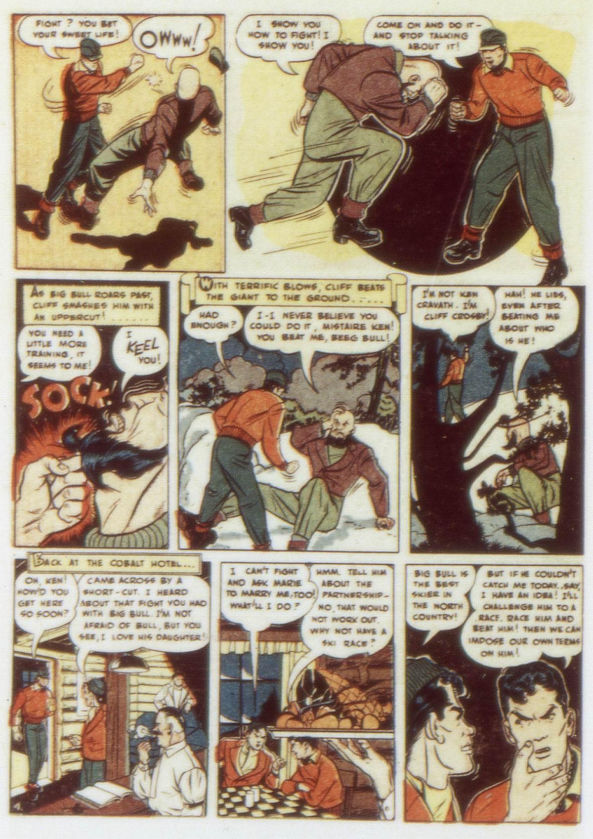 Read online Detective Comics (1937) comic -  Issue #58 - 34