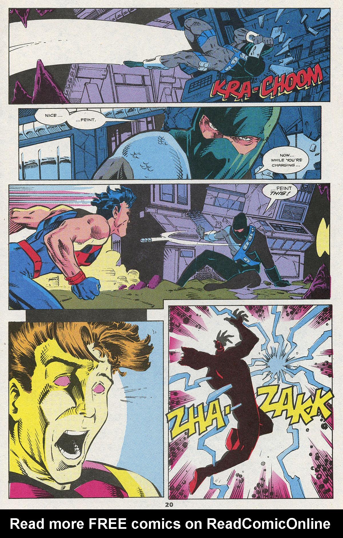 Read online Wonder Man (1991) comic -  Issue #4 - 15