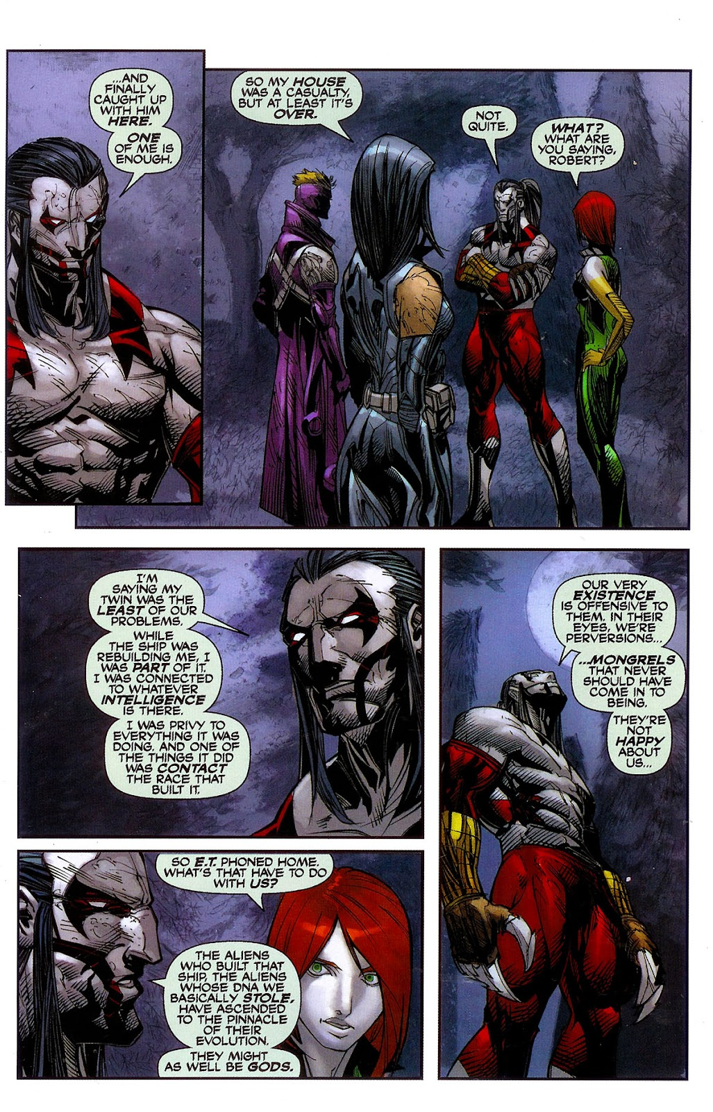 Cyberforce (2006) Issue #2 #3 - English 22