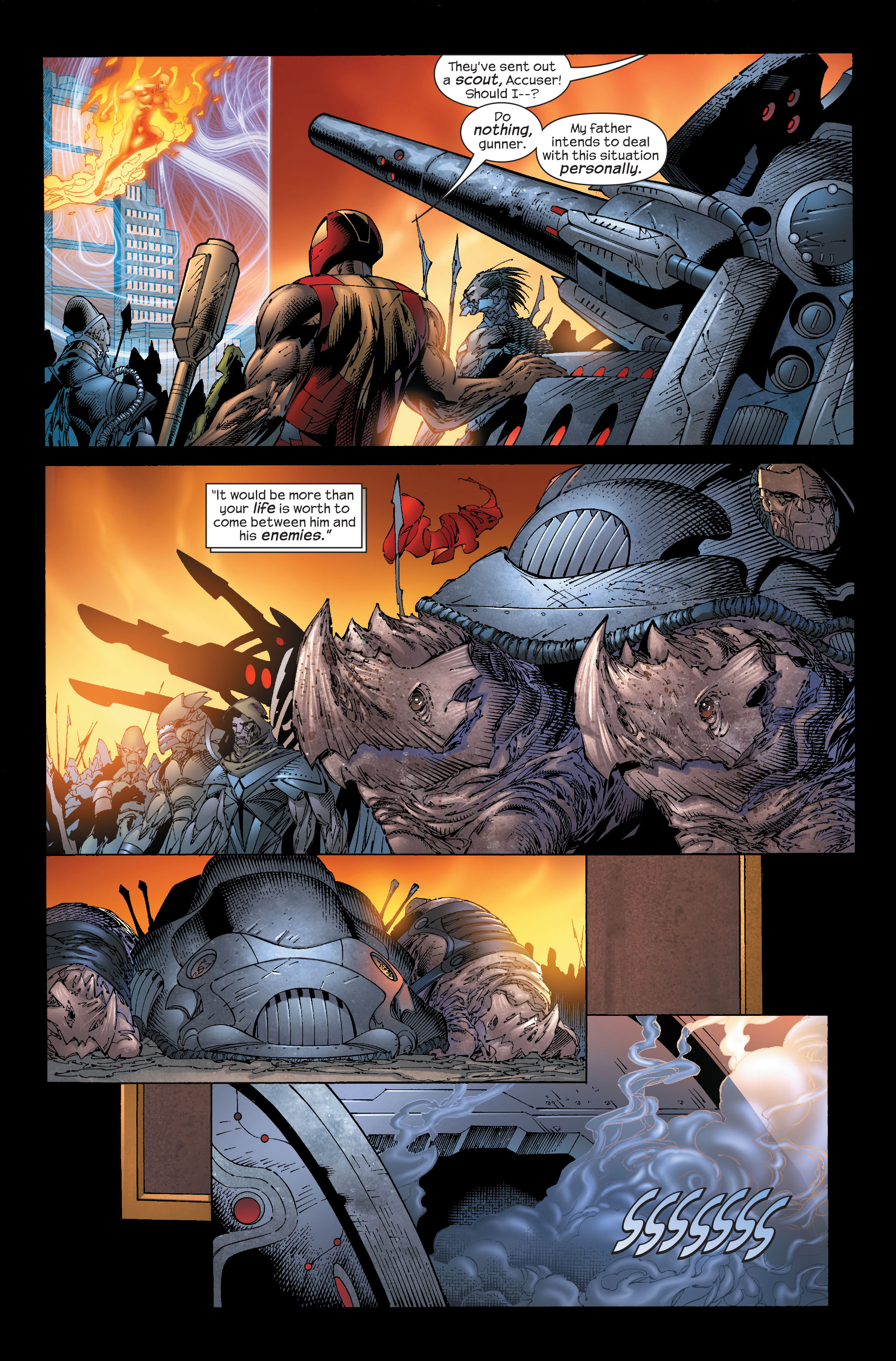 Read online Ultimate Fantastic Four (2004) comic -  Issue #51 - 10