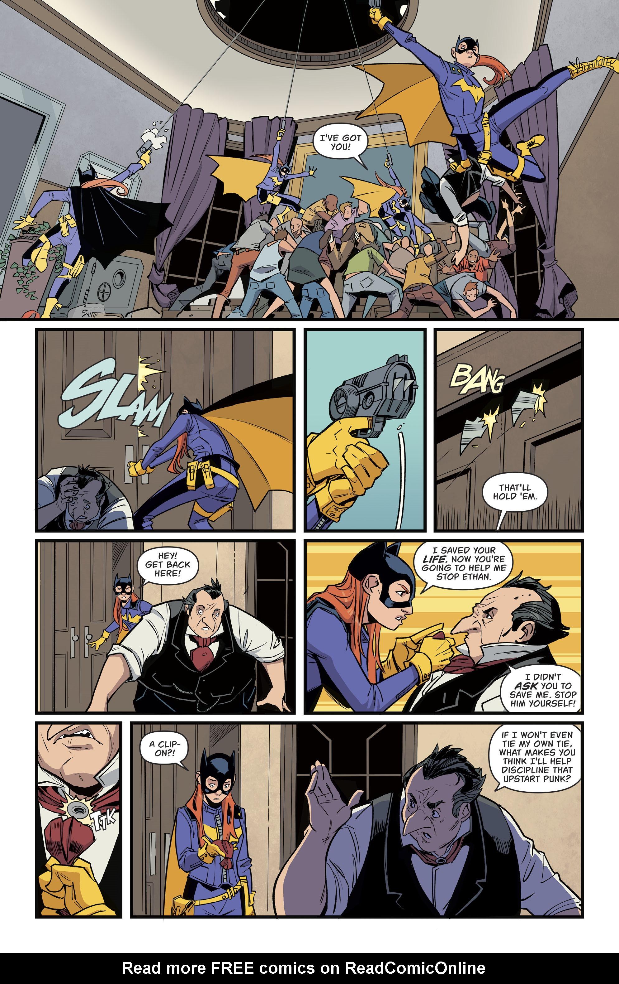 Read online Batgirl (2016) comic -  Issue #11 - 8