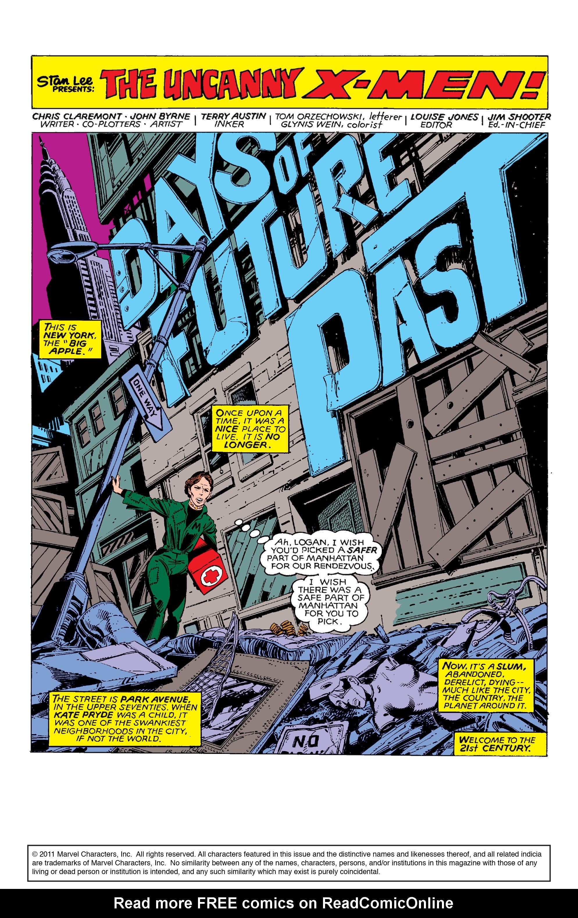 Uncanny X-Men (1963) 141 Page 1