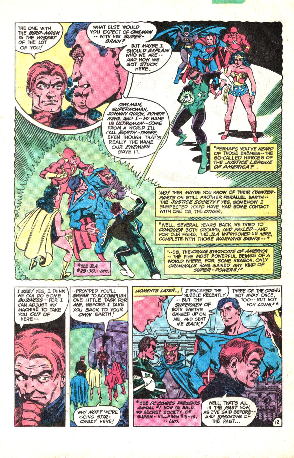 Read online All-Star Squadron comic -  Issue #14 - 16