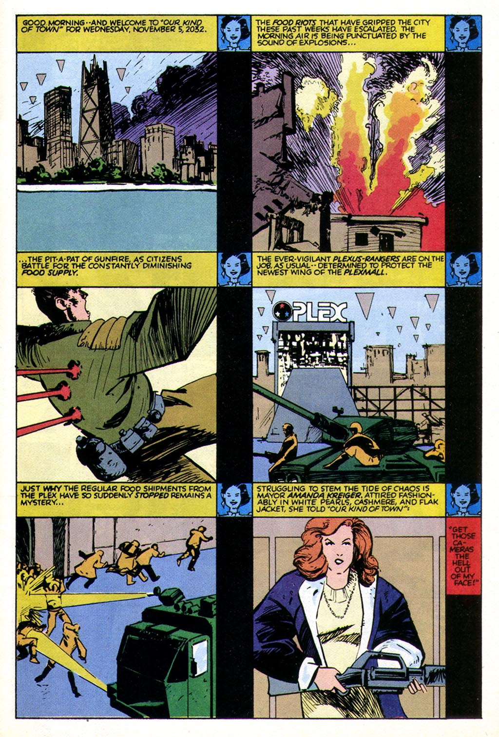 Read online American Flagg! comic -  Issue #43 - 3