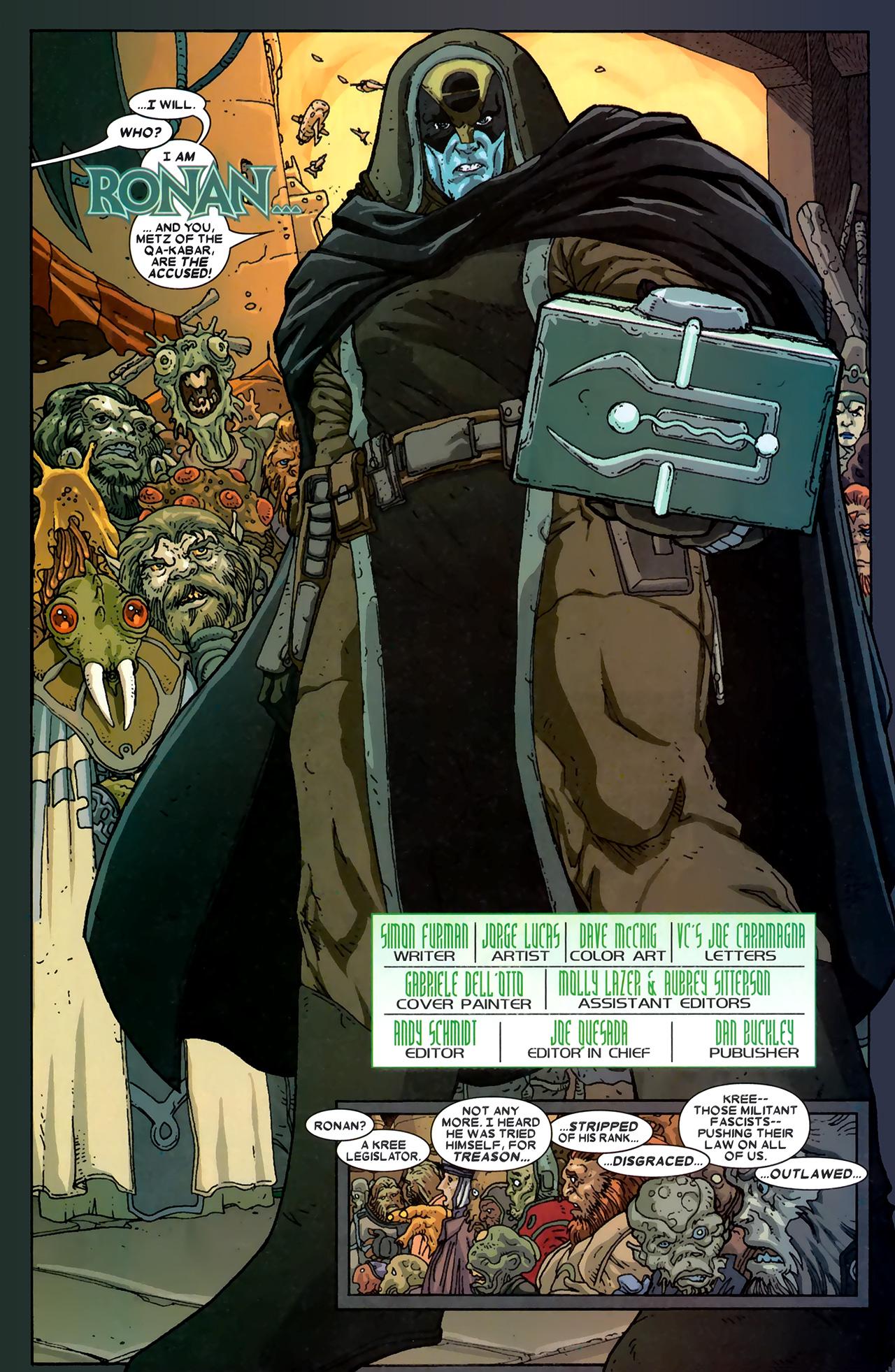 Read online Annihilation: Ronan comic -  Issue #1 - 4