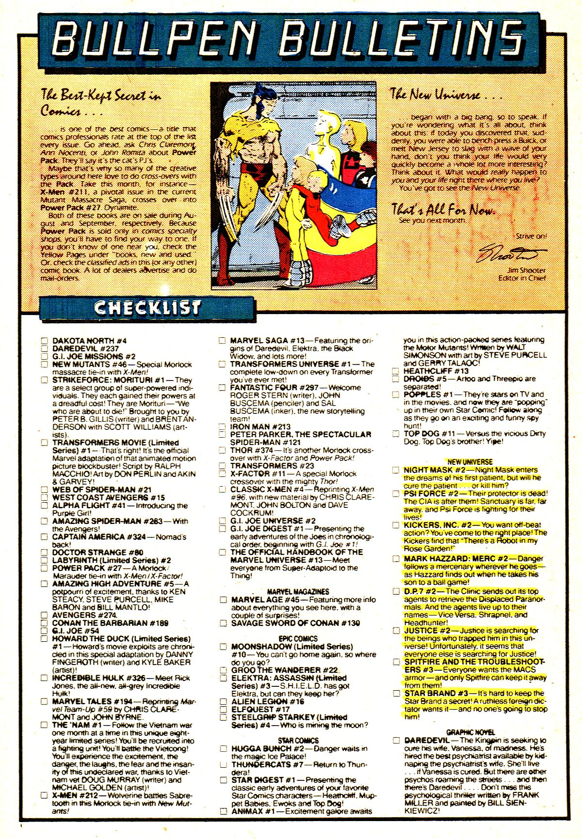 Read online Alpha Flight (1983) comic -  Issue #42 - 22