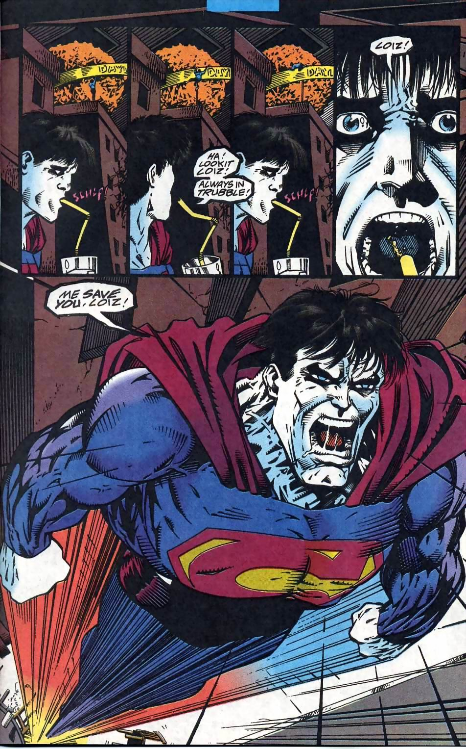 Read online Adventures of Superman (1987) comic -  Issue #510 - 18