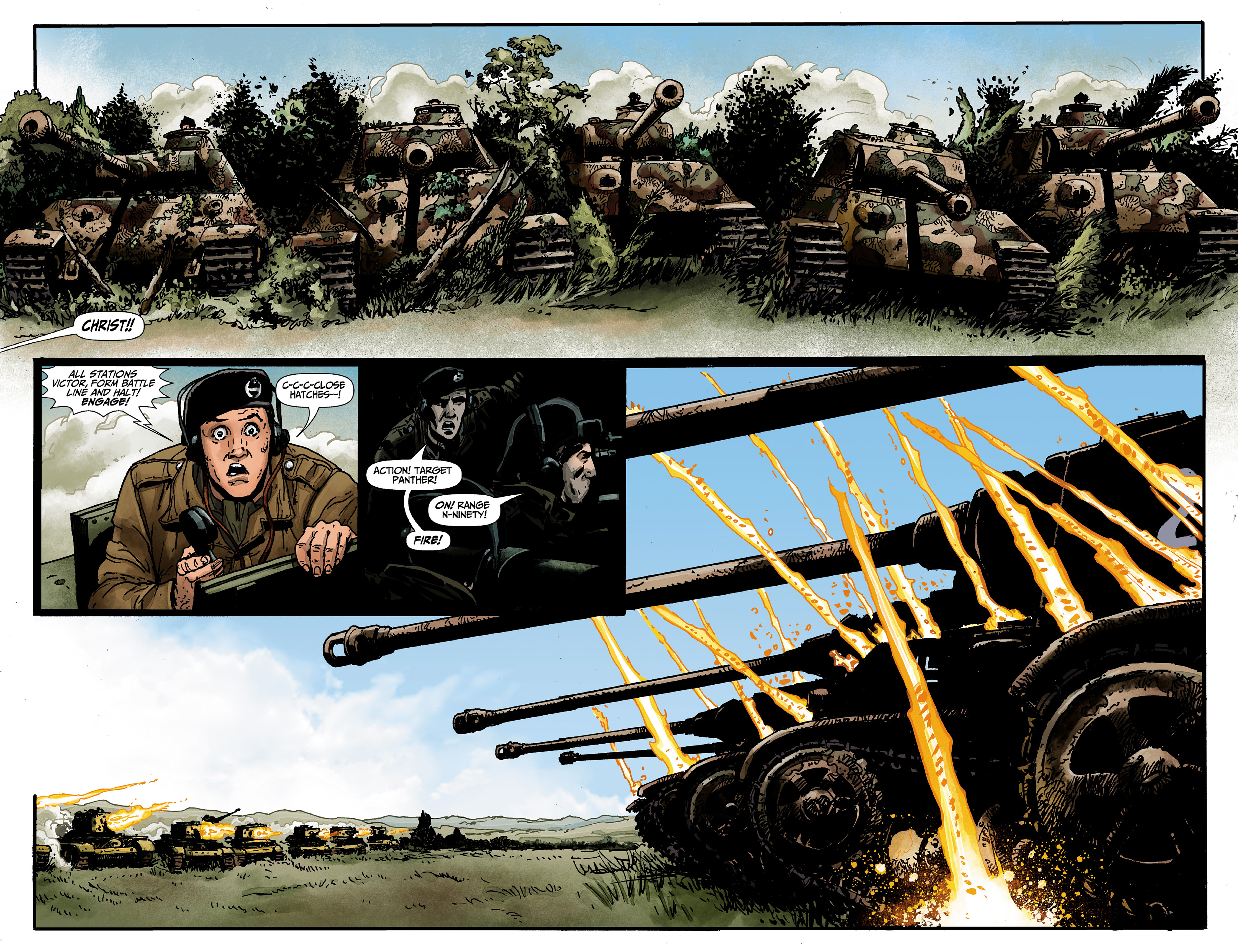 Read online World of Tanks comic -  Issue #1 - 18