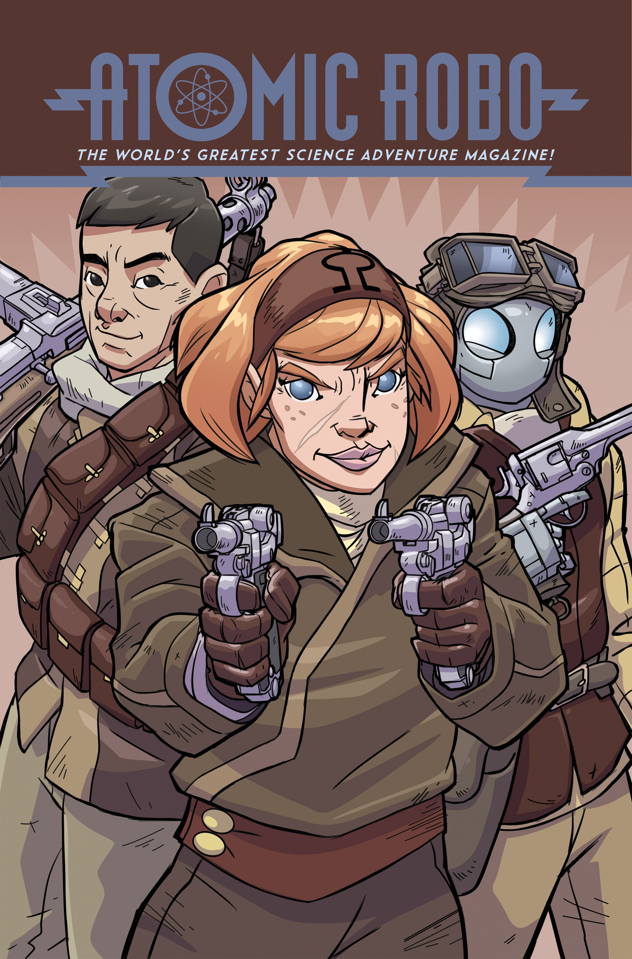 Read online Atomic Robo and the Temple of Od comic -  Issue #3 - 1