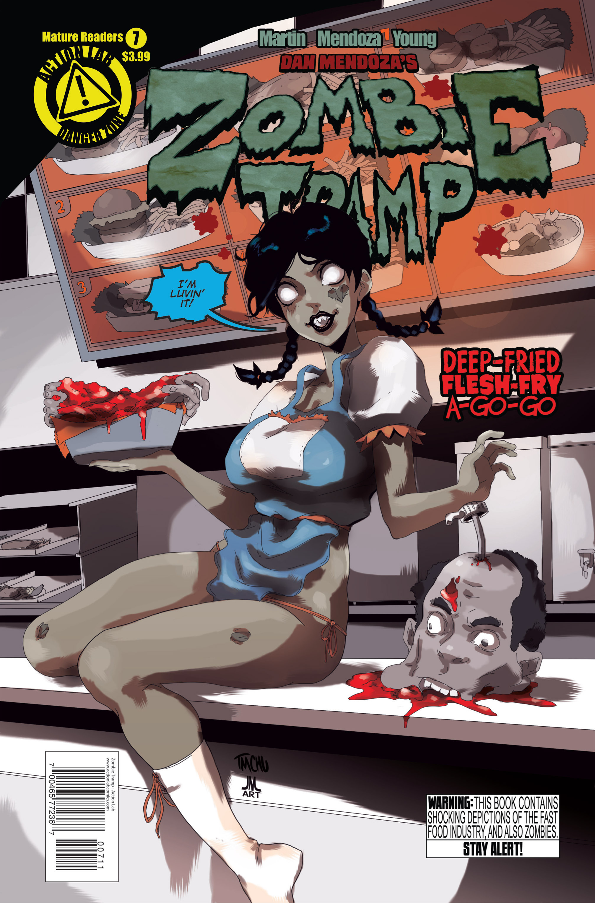 Zombie Tramp (2014) 7 Page 1