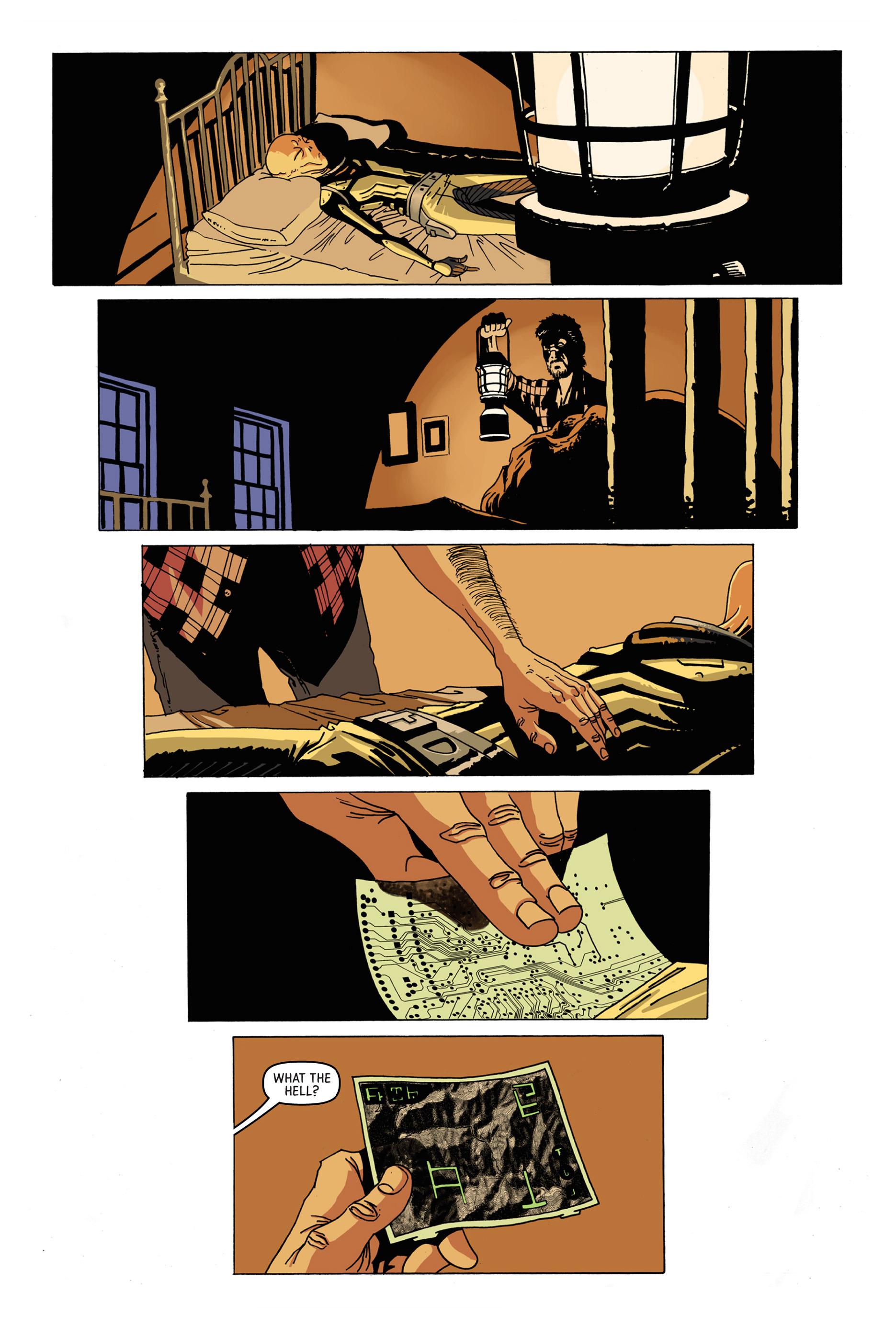 Read online Trespasser comic -  Issue #1 - 17