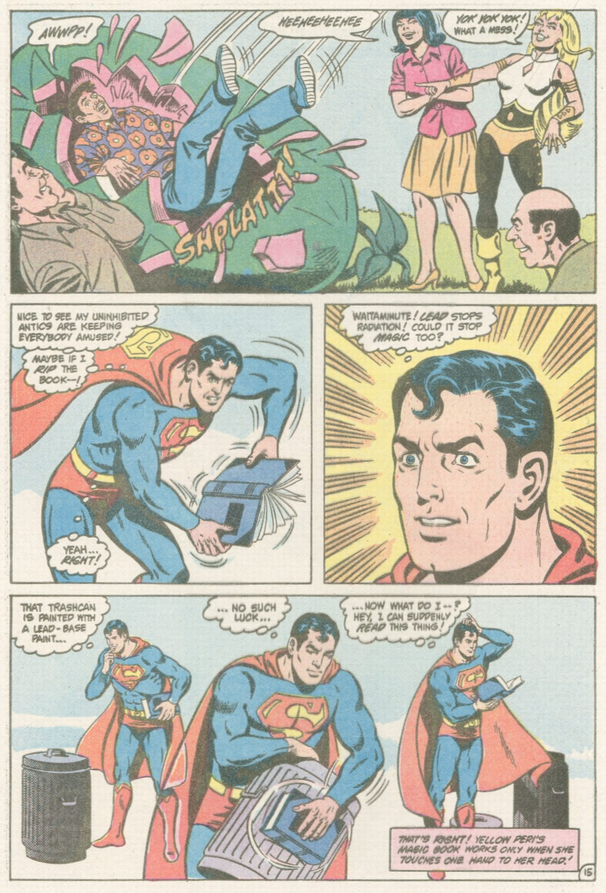 Read online Action Comics (1938) comic -  Issue #567 - 16