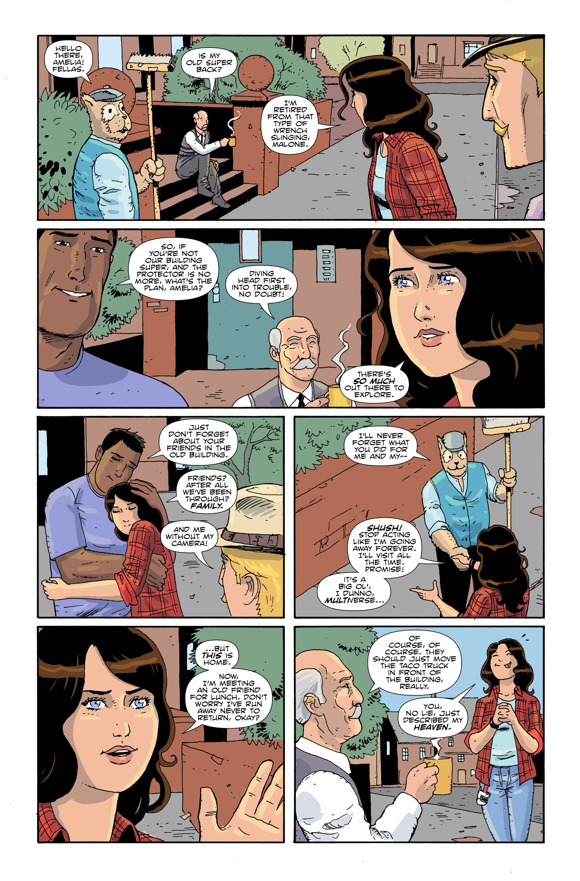 Read online Amelia Cole Versus The End of Everything comic -  Issue #30 - 11