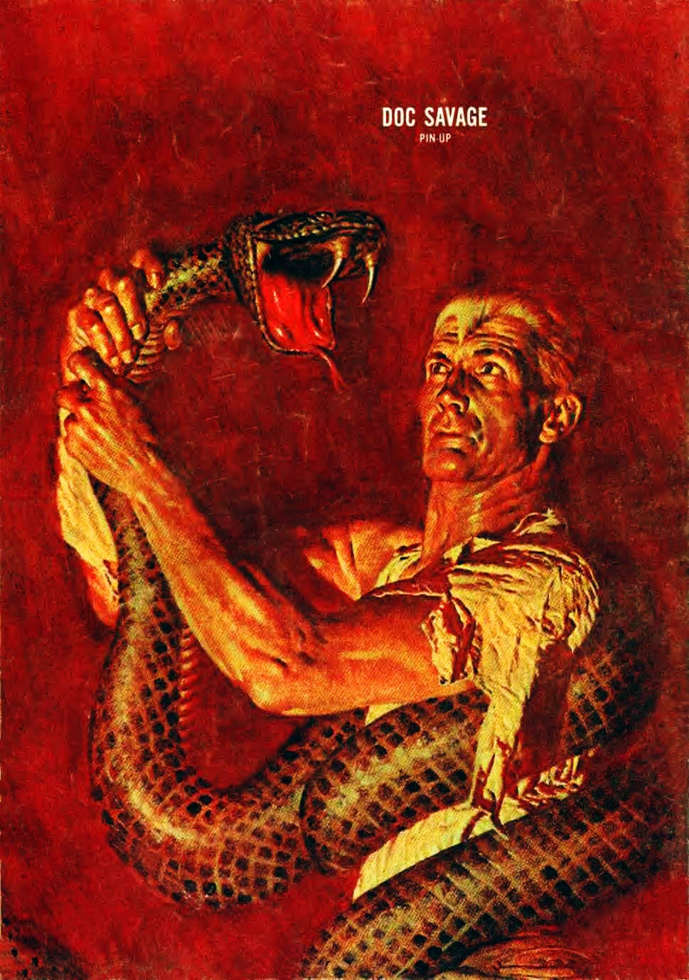 Read online Doc Savage (1966) comic -  Issue # Full - 36