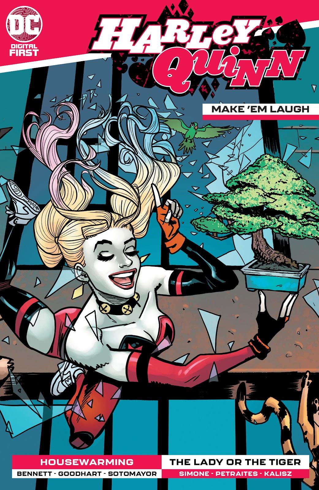 Harley Quinn: Make 'em Laugh issue 2 - Page 1