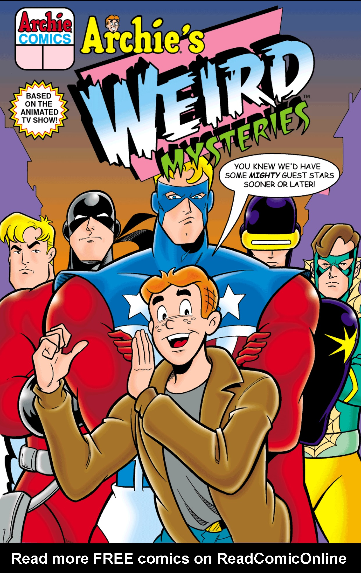 Read online Archie's Weird Mysteries comic -  Issue #3 - 1