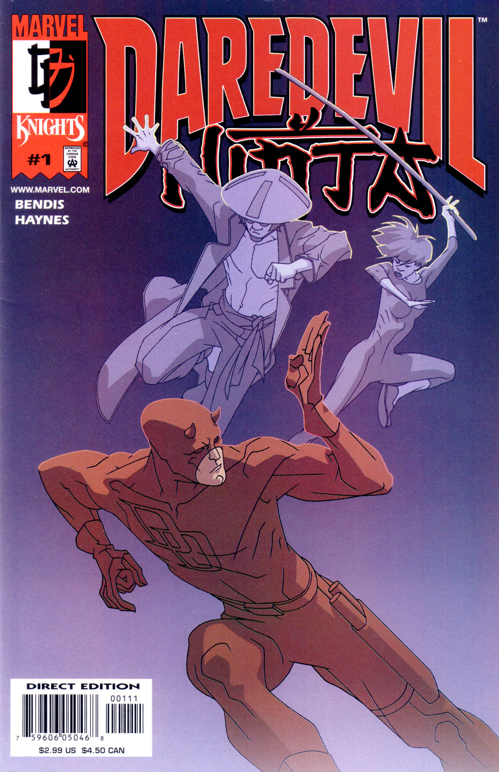 Supermans Pal Jimmy Olsen (1954) Daredevil_-_Ninja_(2001) Page 1