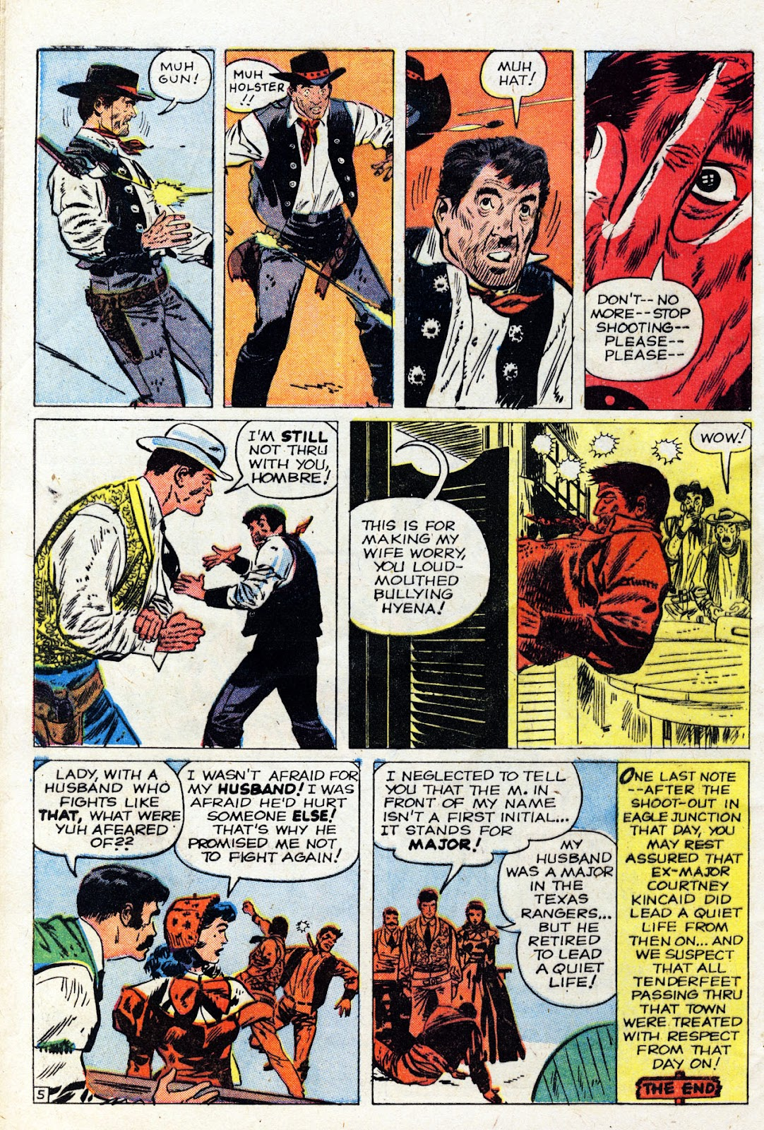 Gunsmoke Western issue 61 - Page 32