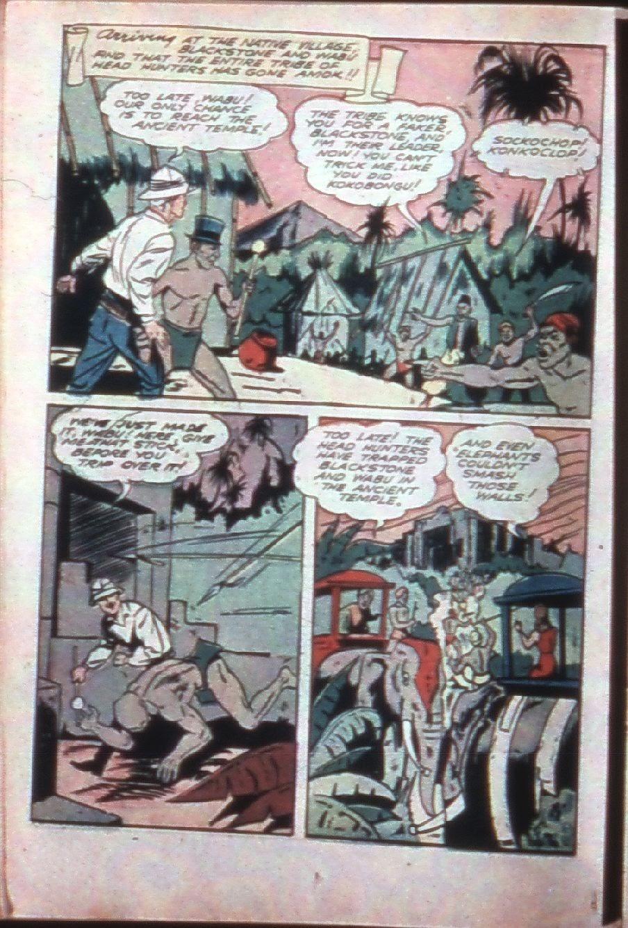 Read online Super-Magician Comics comic -  Issue #7 - 32