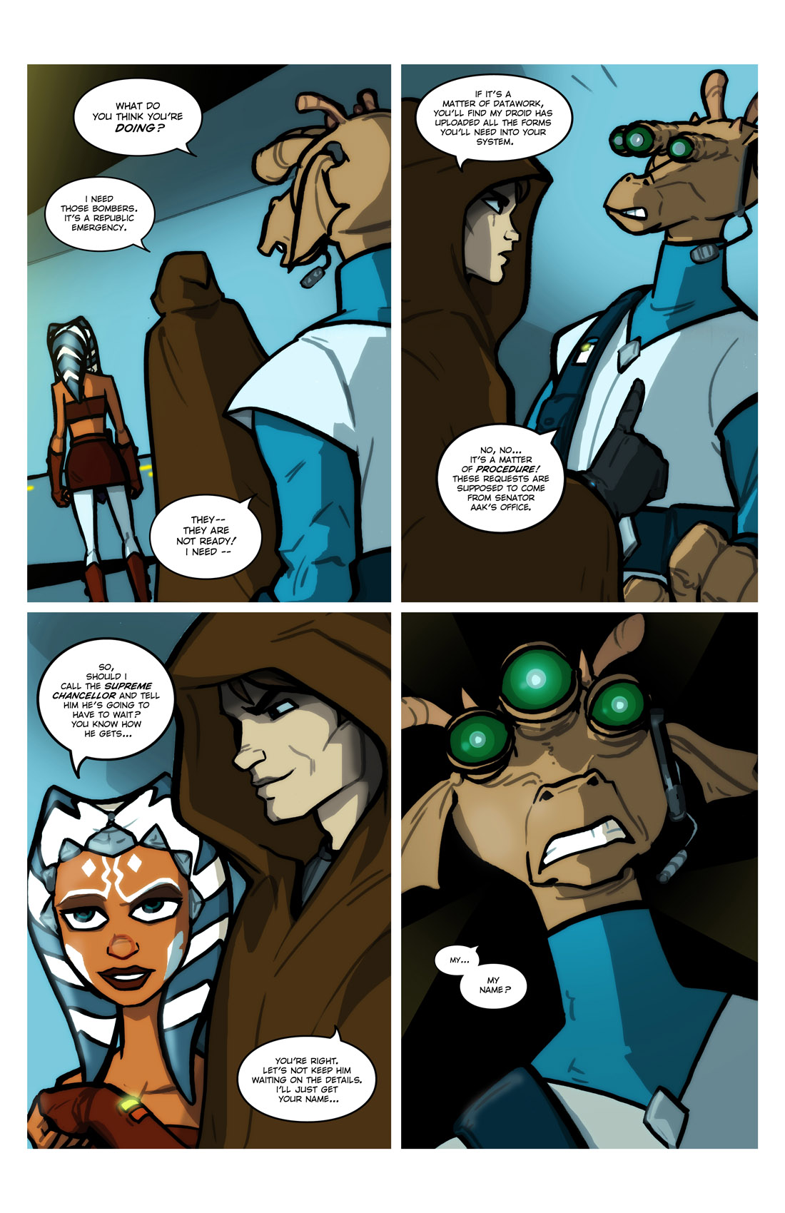 Read online Star Wars: Tales From The Clone Wars comic -  Issue # TPB - 22