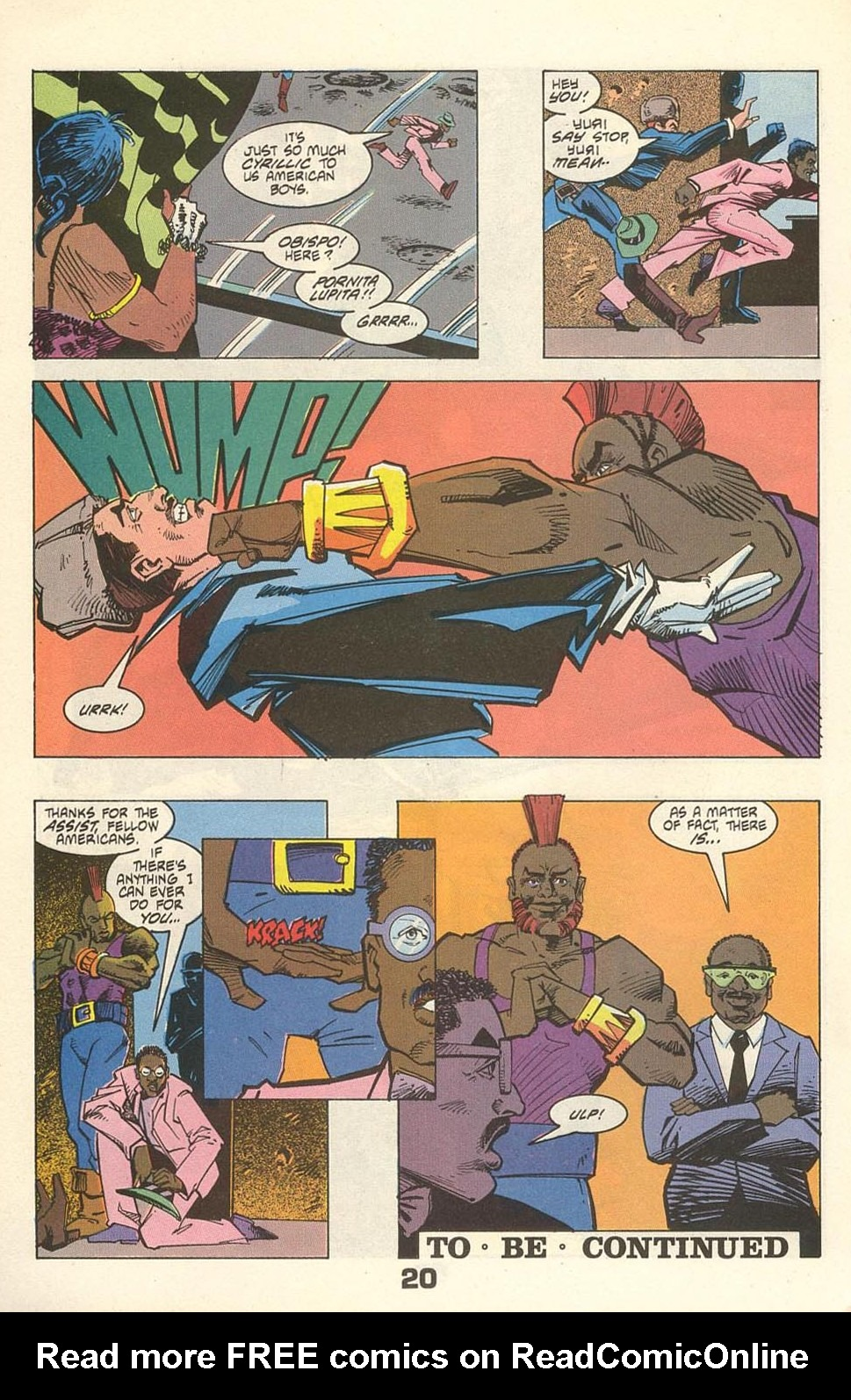 Read online American Flagg! comic -  Issue #31 - 24