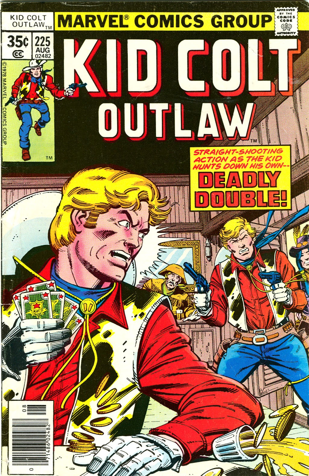 Kid Colt Outlaw issue 225 - Page 1