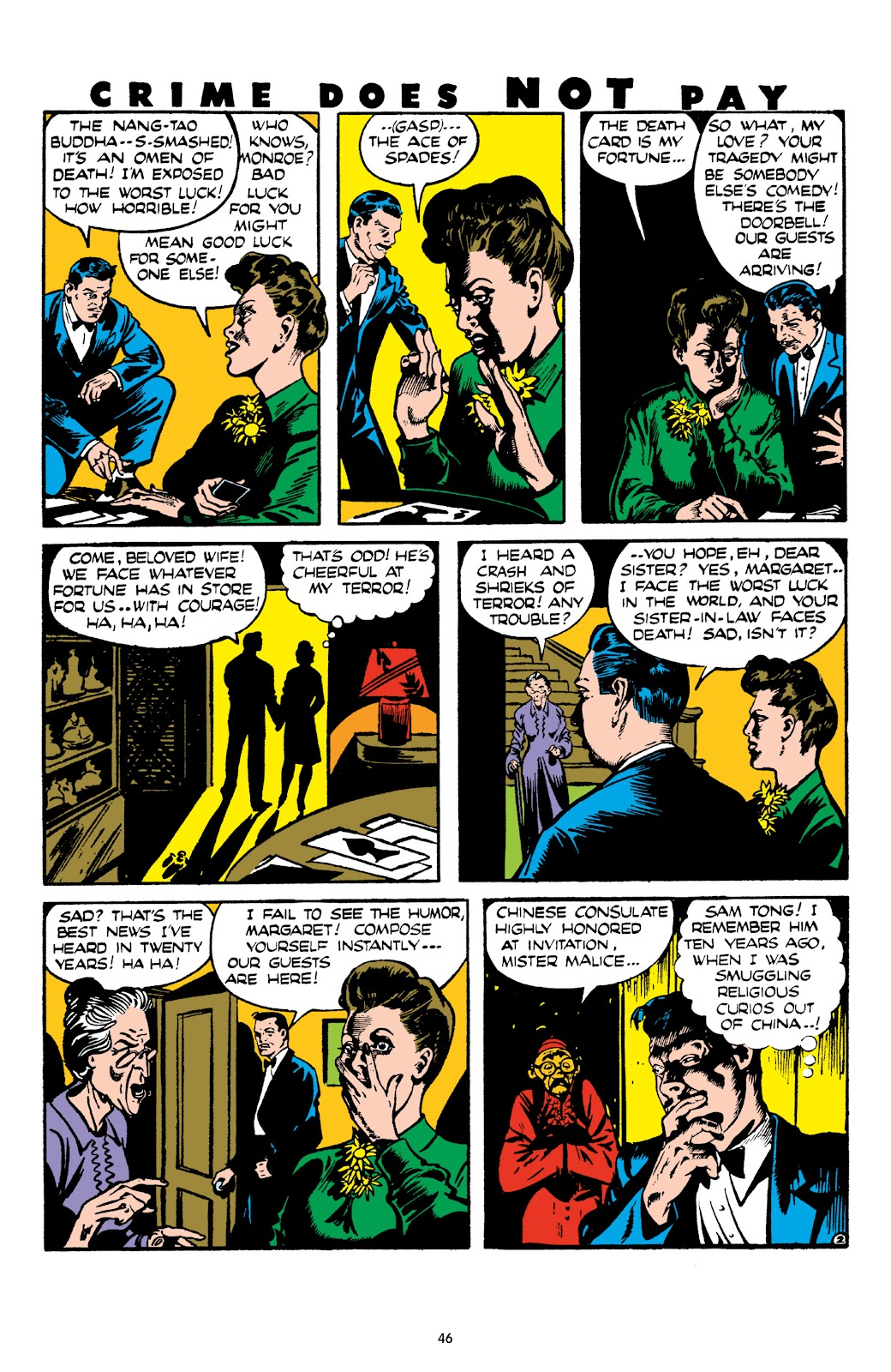 Read online Crime Does Not Pay Archives comic -  Issue # TPB 8 (Part 1) - 47