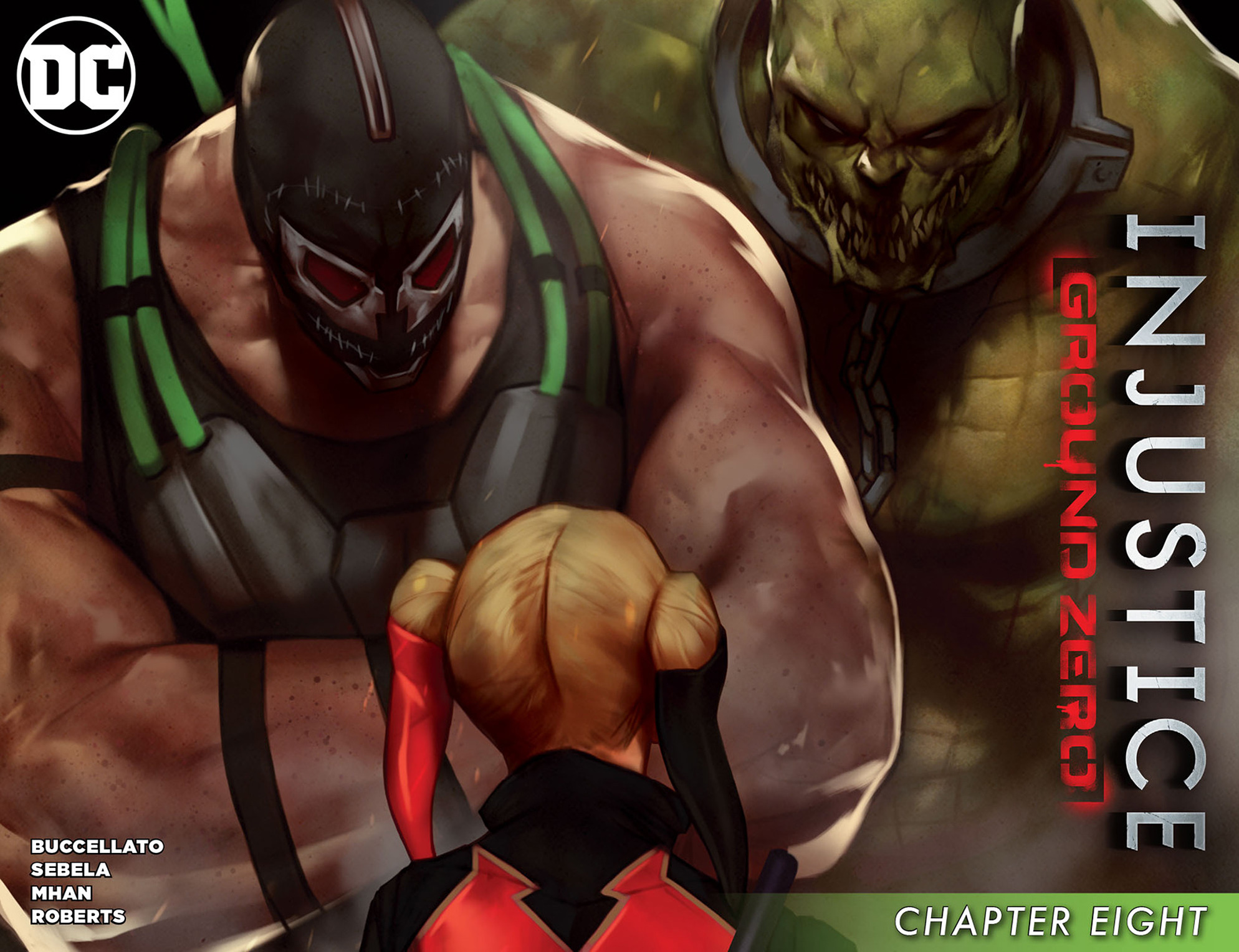 Read online Injustice: Ground Zero comic -  Issue #8 - 1
