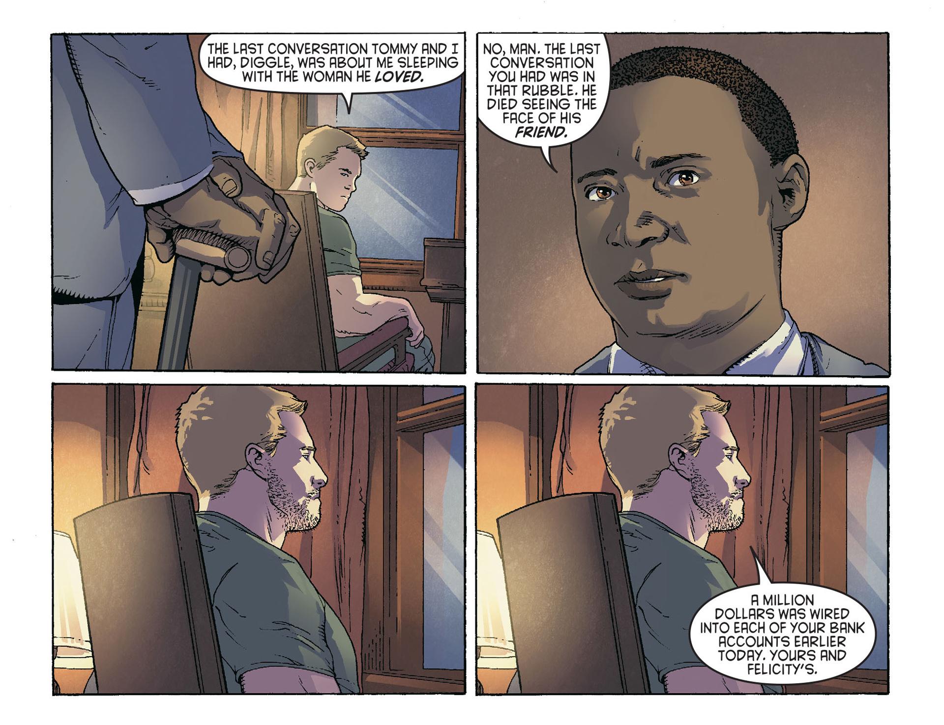 Read online Arrow [II] comic -  Issue #36 - 13