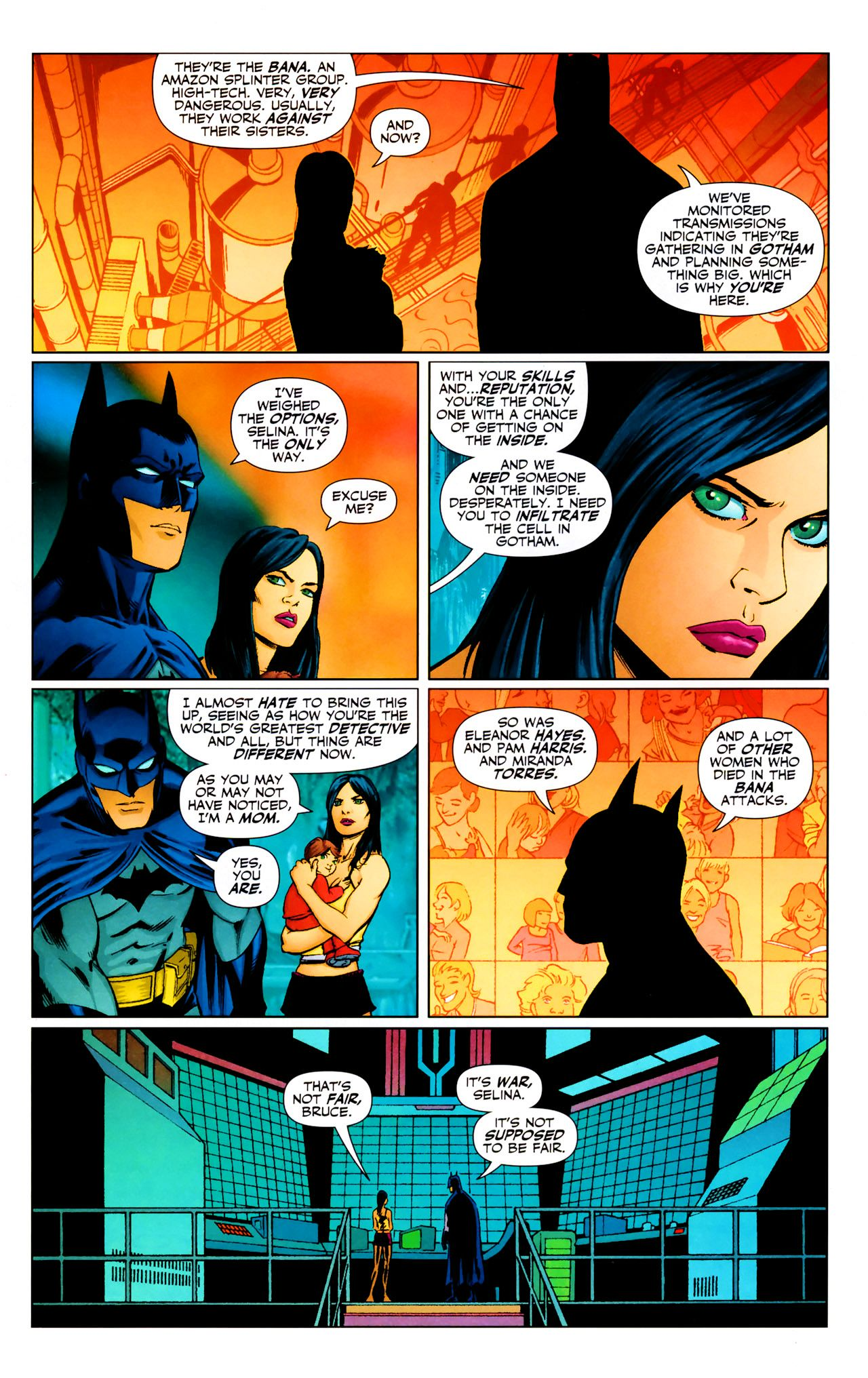 Read online Catwoman (2002) comic -  Issue #69 - 12