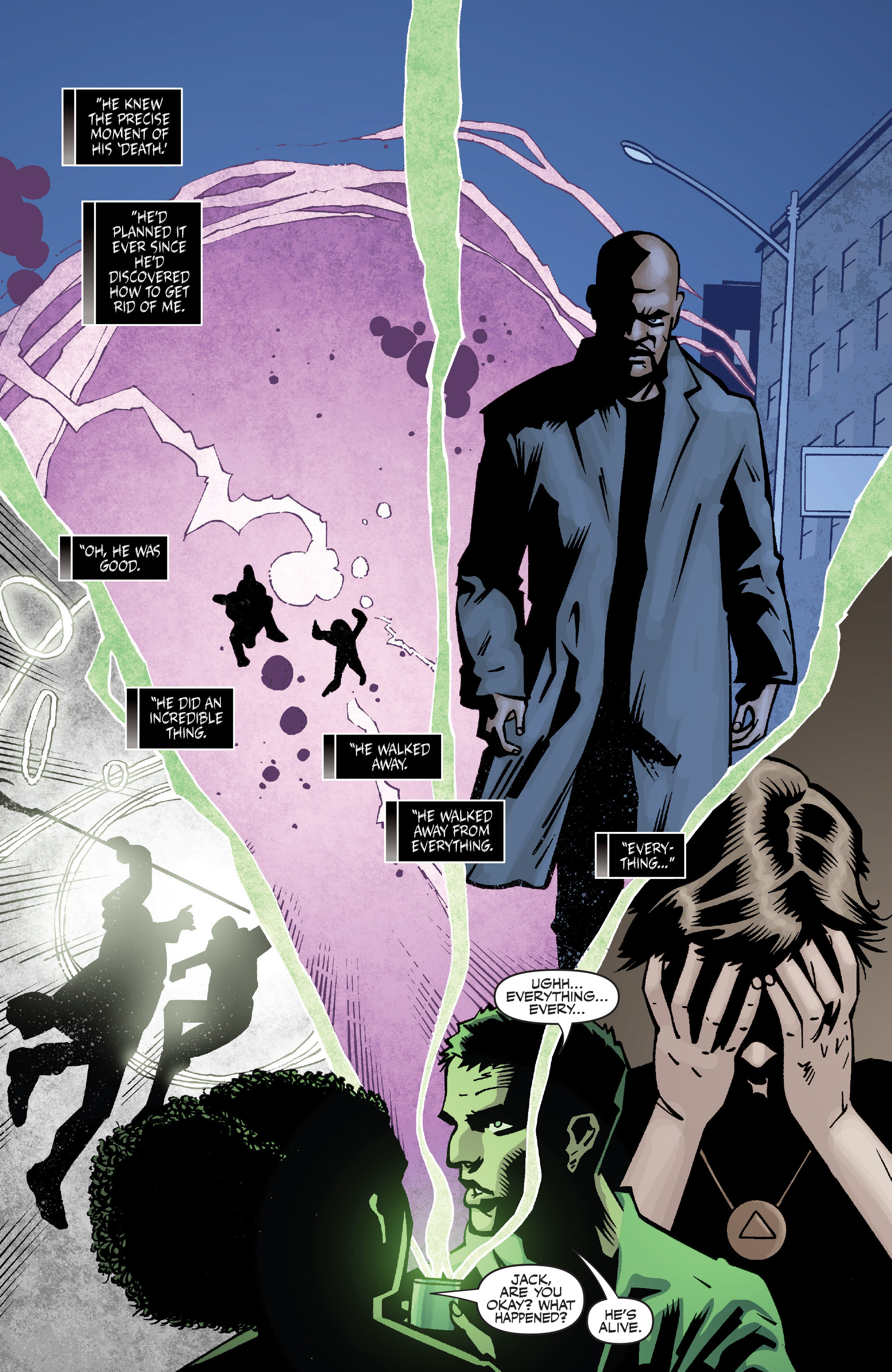 Read online Shadowman: End Times comic -  Issue #1 - 24