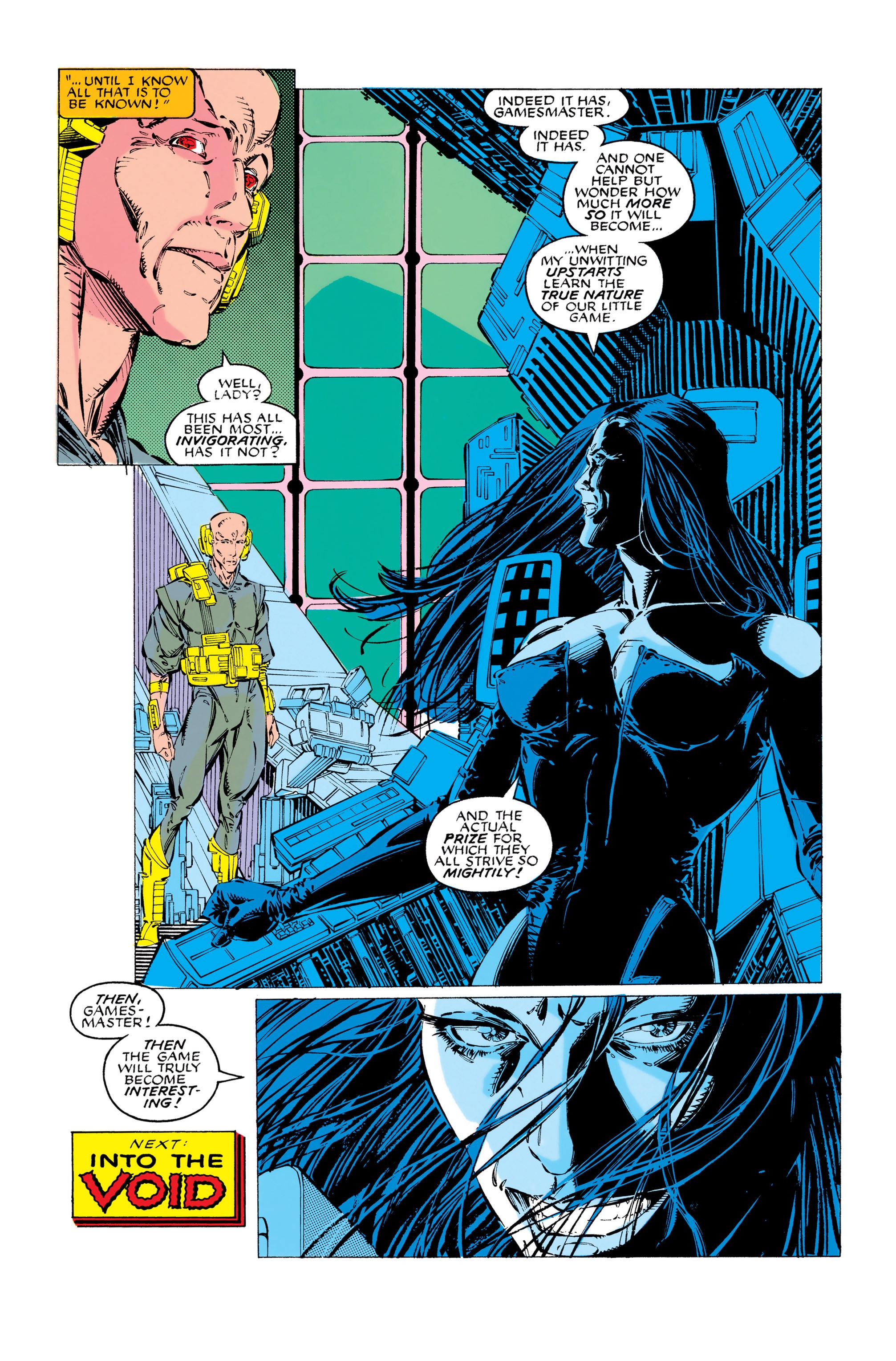 Read online Uncanny X-Men (1963) comic -  Issue #283 - 22
