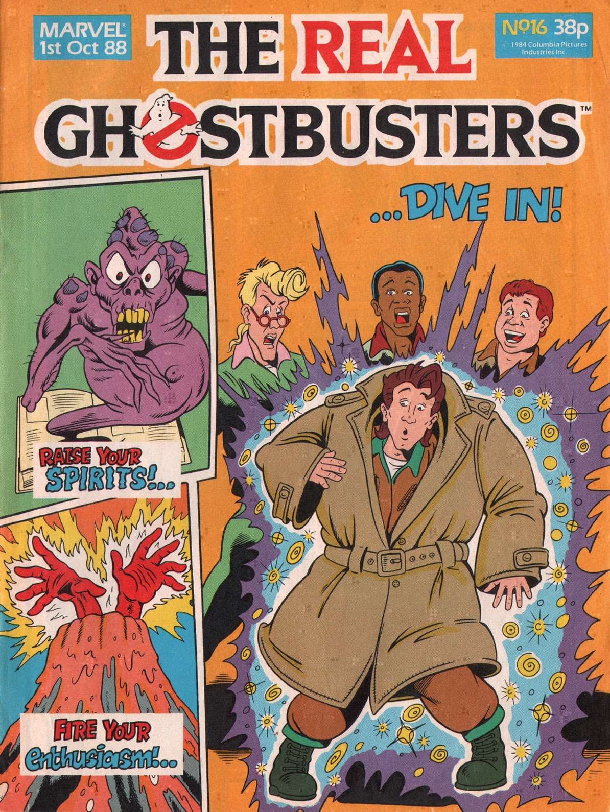 The Real Ghostbusters 16 Page 1