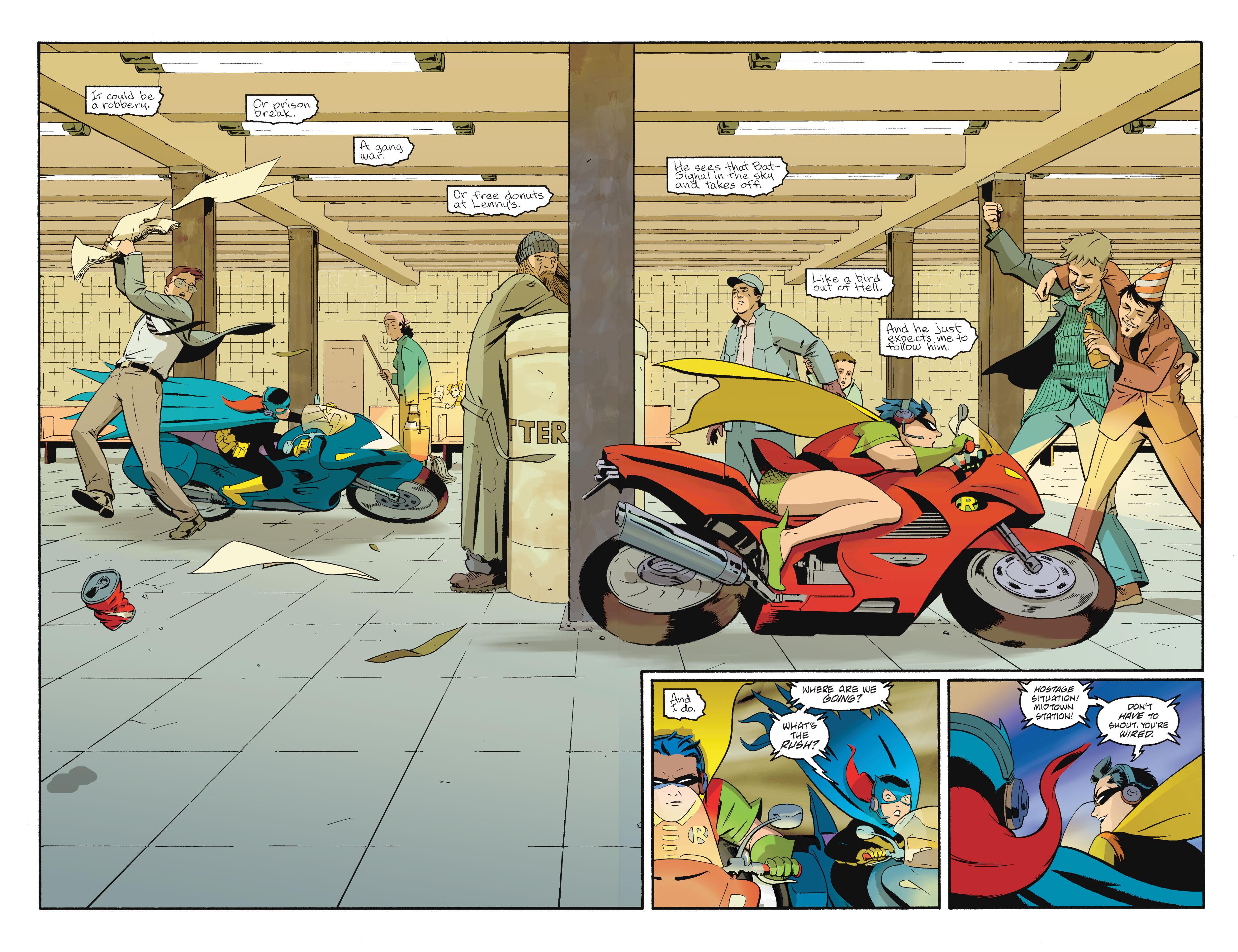 Read online Batgirl/Robin: Year One comic -  Issue # TPB 2 - 156